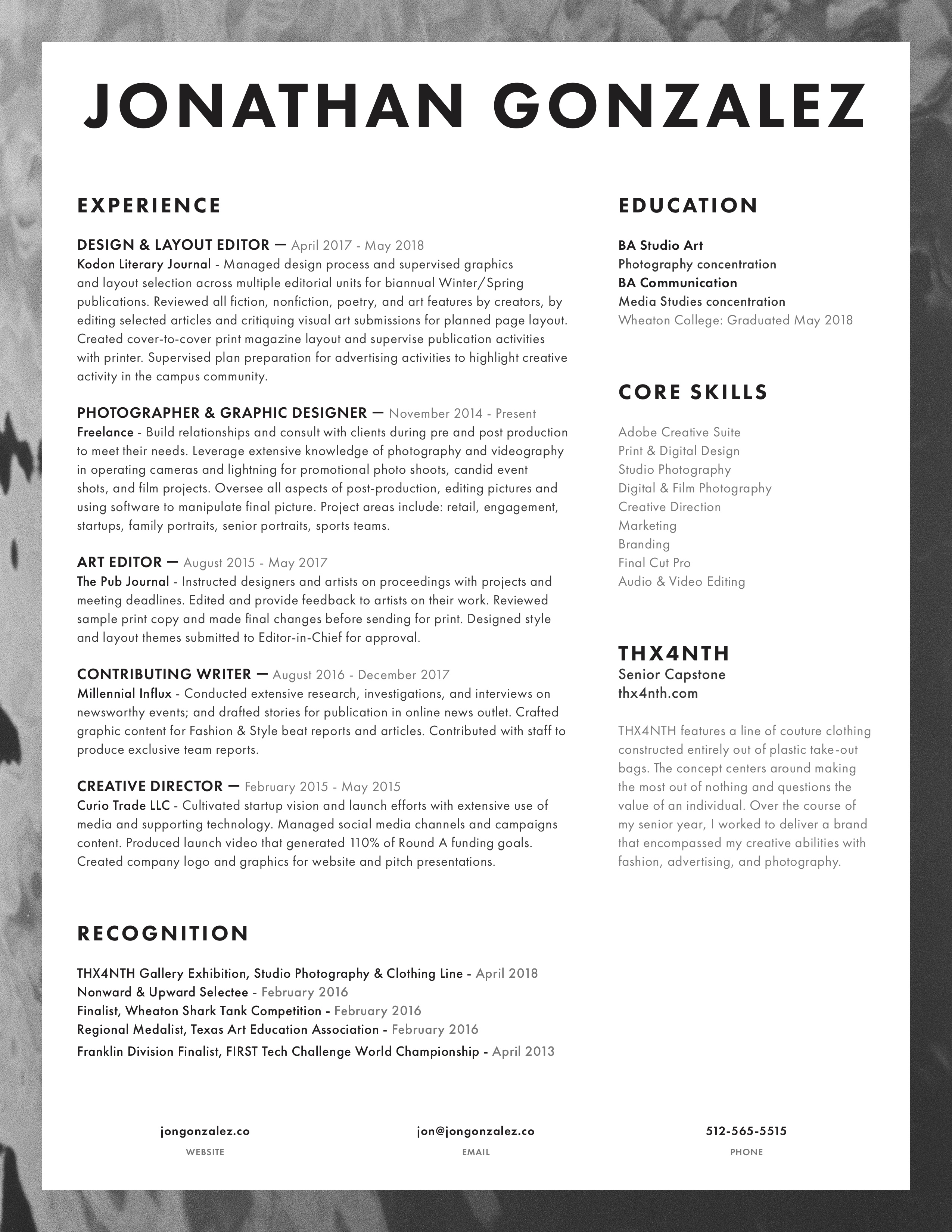 Resume - jongonzalez