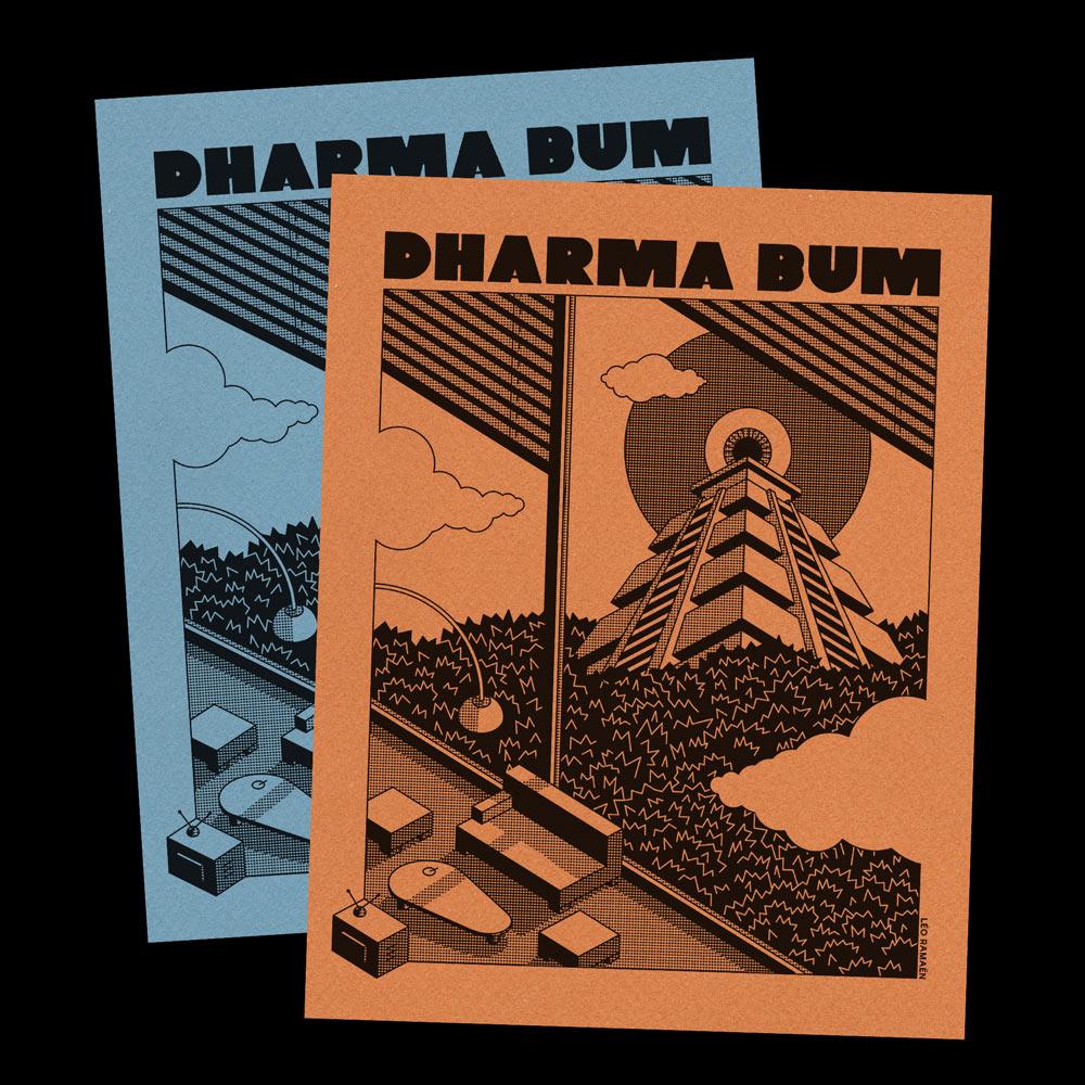 Dharma Bum Leo Ramaen Posters