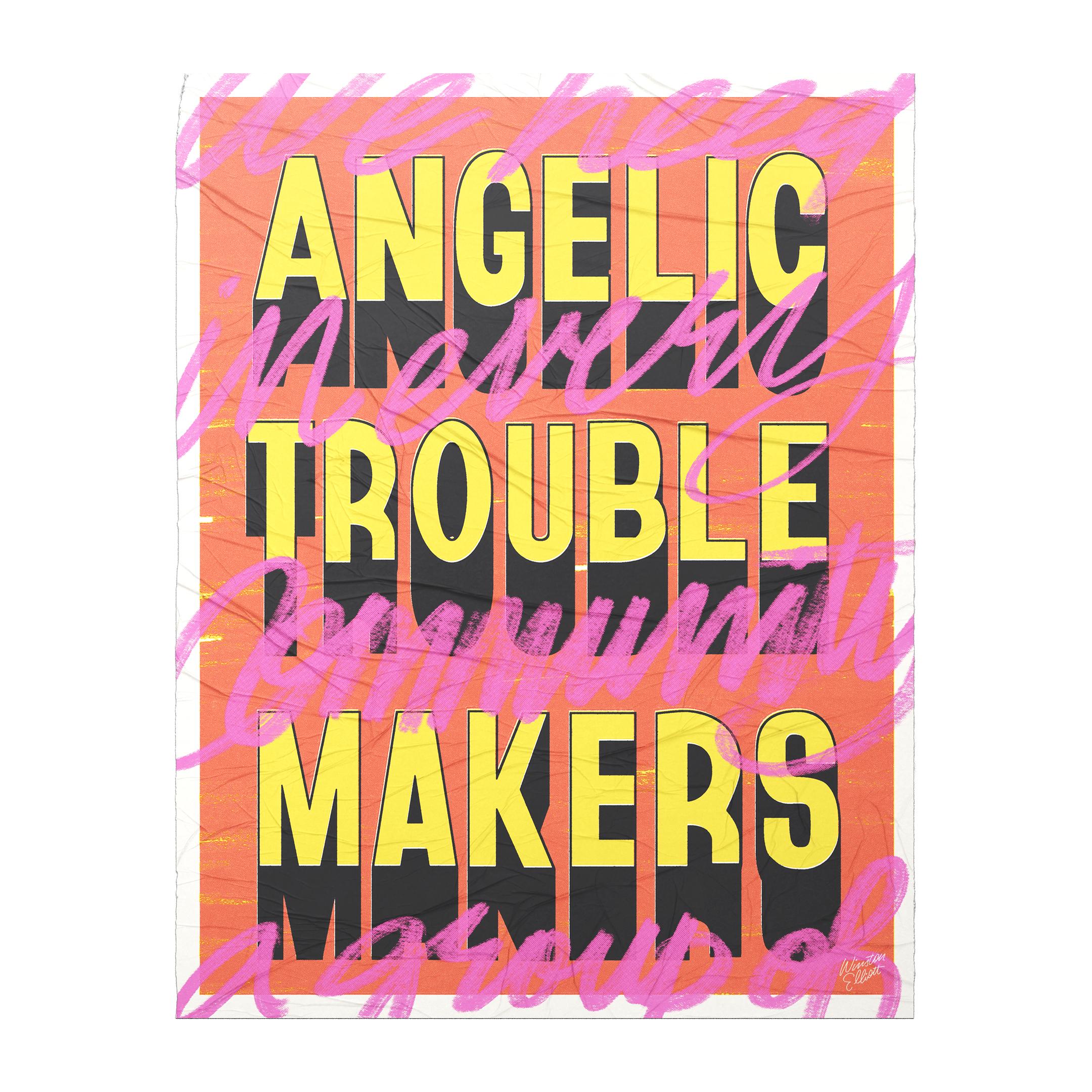 Angelic Troublemakers - Winston Elliott Design