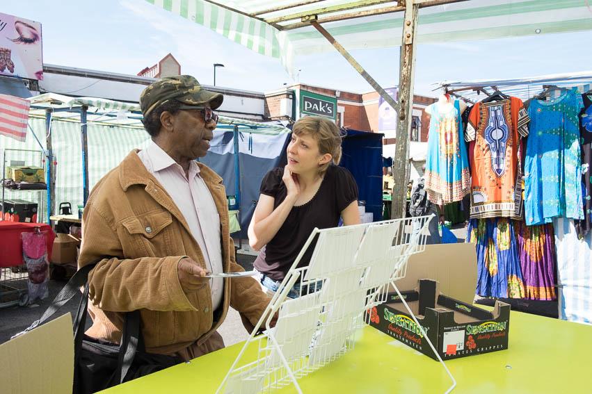 A Ridley Road Market Stall - Tamara Rabea Stoll