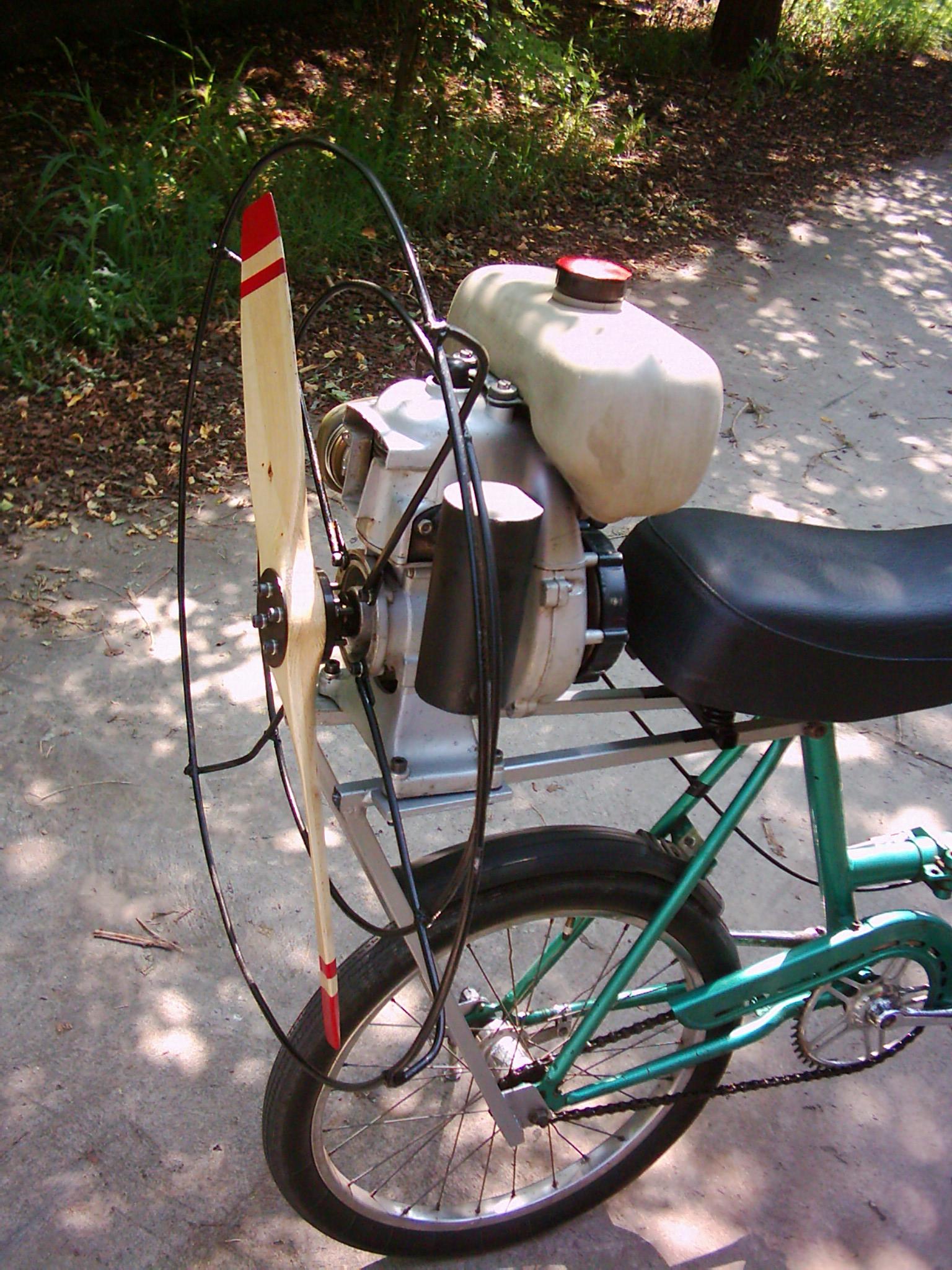 Propeller Propulsion Bike Robert Kovacs