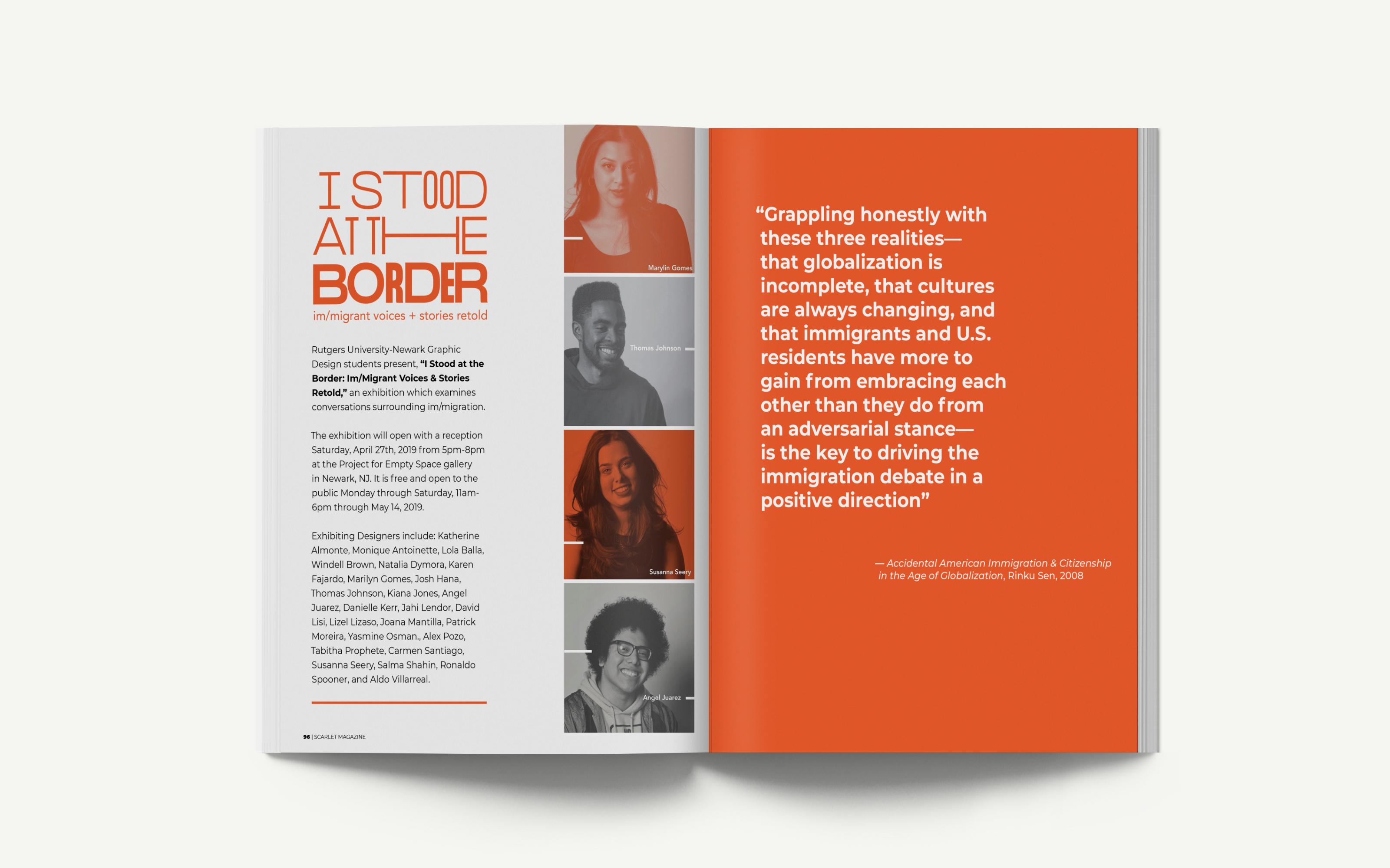 I Stood at the Border - Natalia Dymora