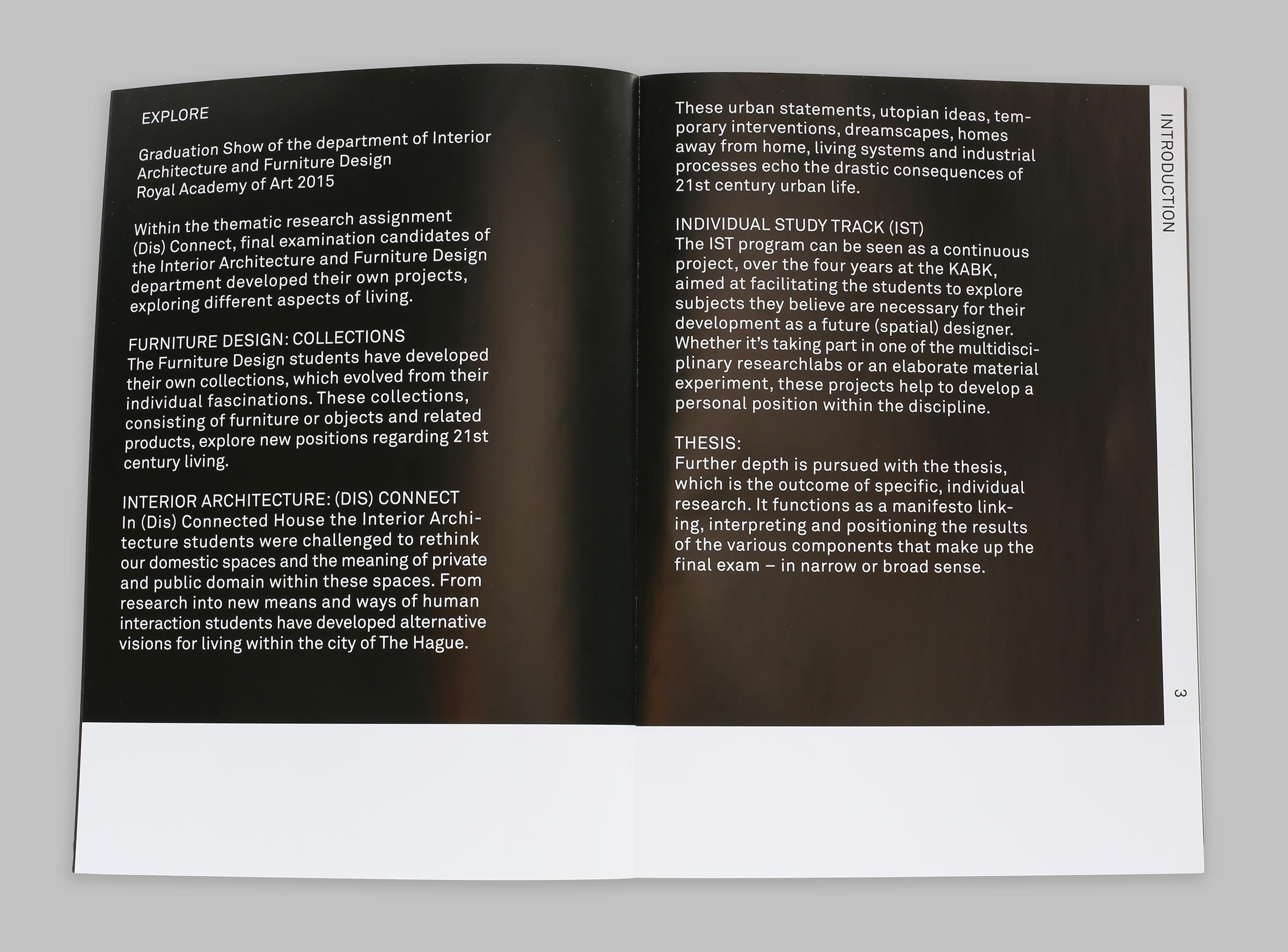 IAFD Graduation Show — Exhibition Identity + Catalogue
