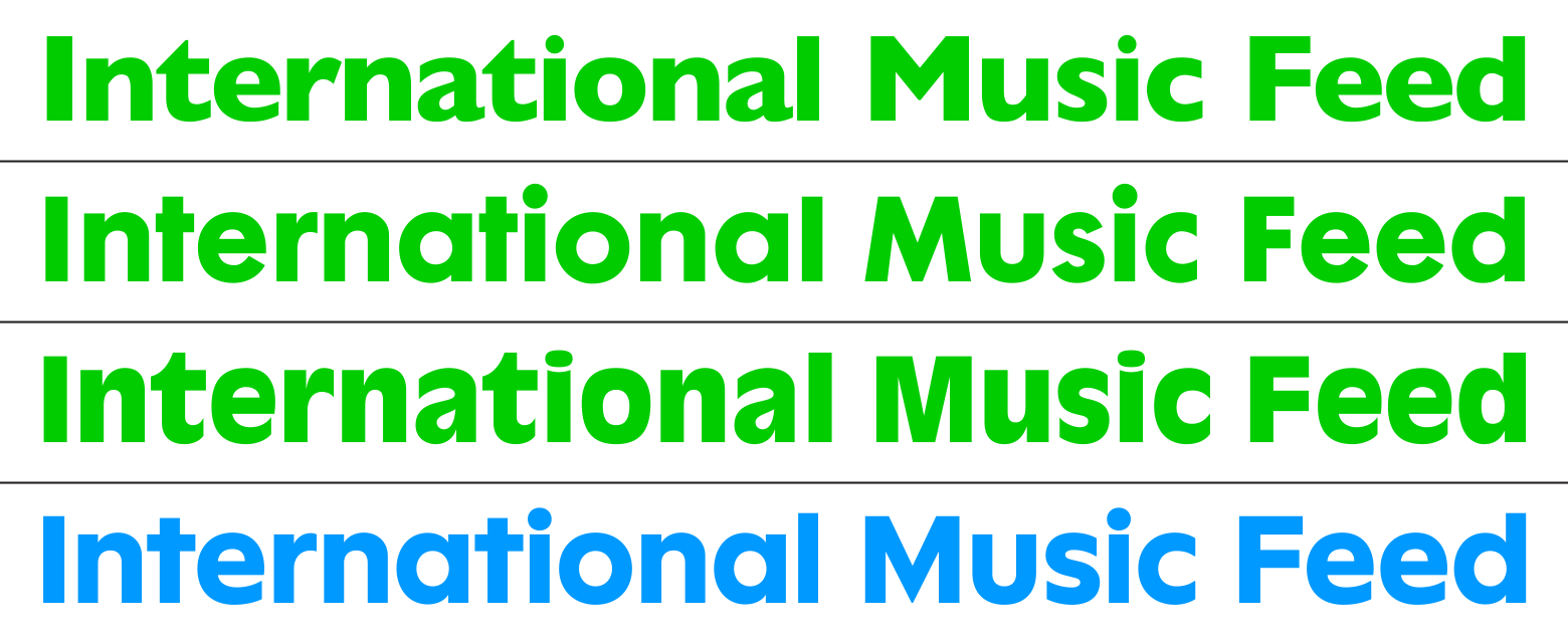 Neuwelt: An optimistic transatlantic sans serif type family