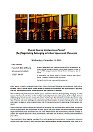 Recalling Public Space by Design poster