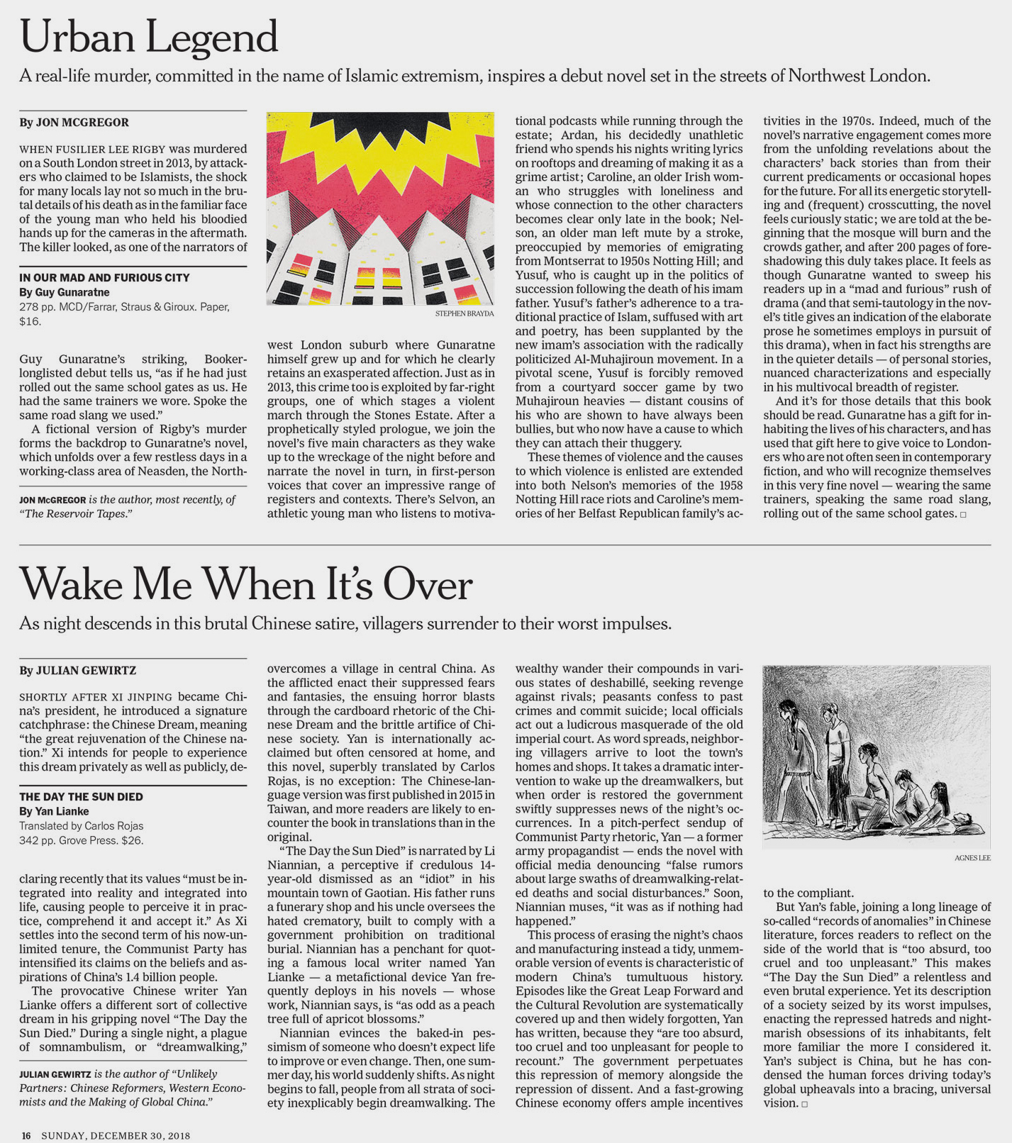 NYT Book Review - Agnes Lee