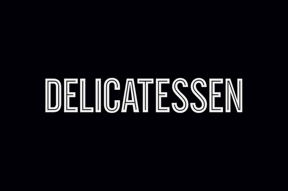 Branding for restaurant Delicatessen located in SoHo, New York