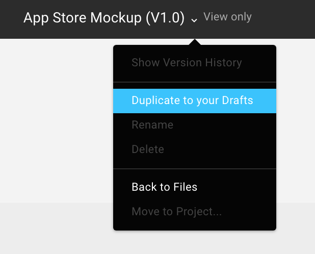App Store mockup to test icons and screenshots - Kaliberda link