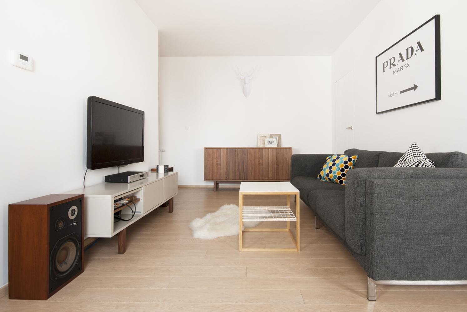 Dwa I Pół Pokoju Projekt Wnętrz Mieszkania Marmur Studio L