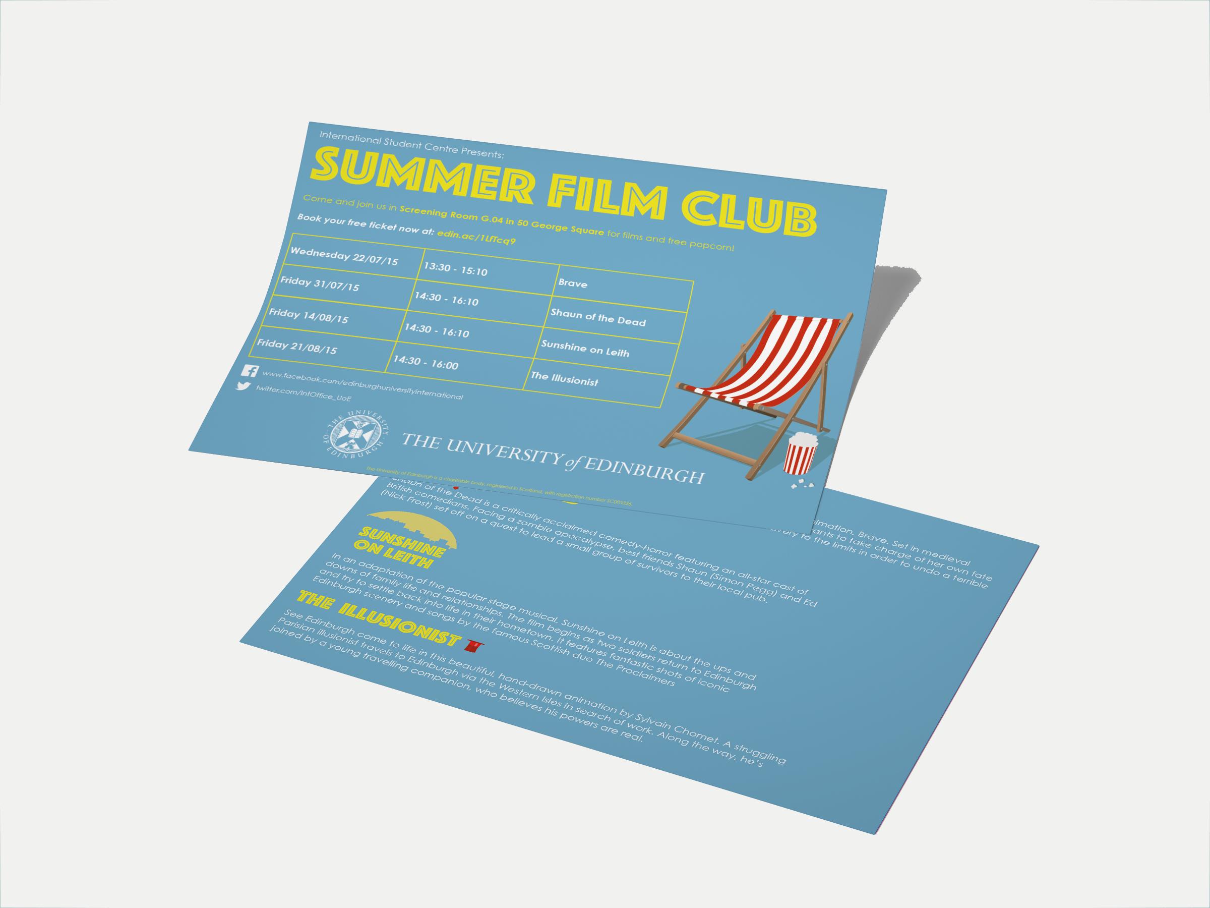 Summer Film Club - Claudia Baldacchino