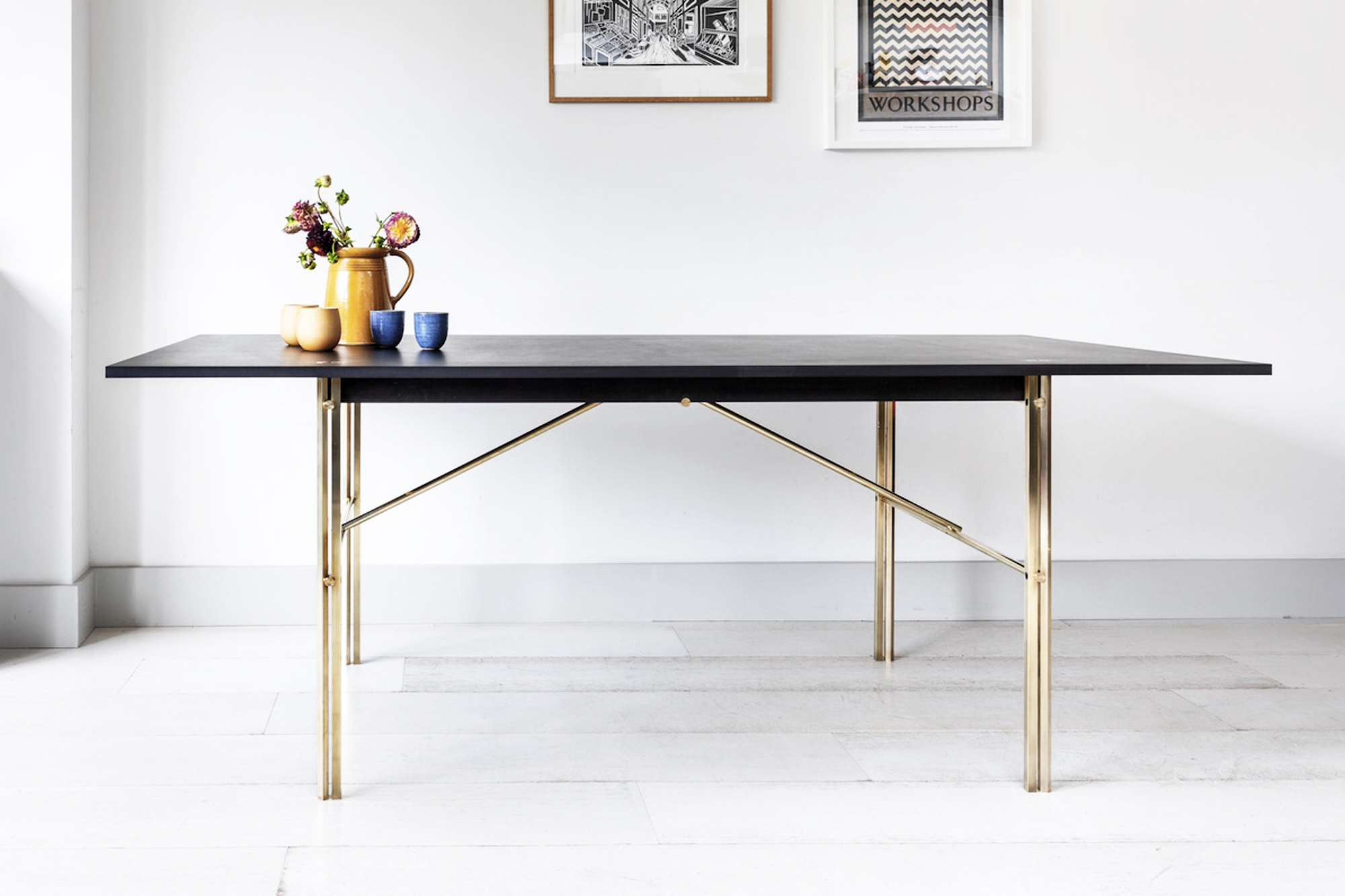 Prime Square Peg Table And Bench Studio In Place Gmtry Best Dining Table And Chair Ideas Images Gmtryco