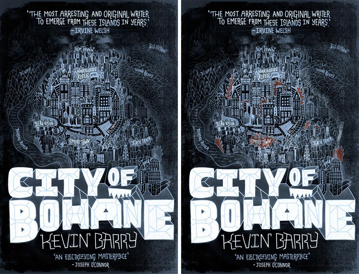 Client: Random House, Inc. Description: City of Bohane Book Cover Options
