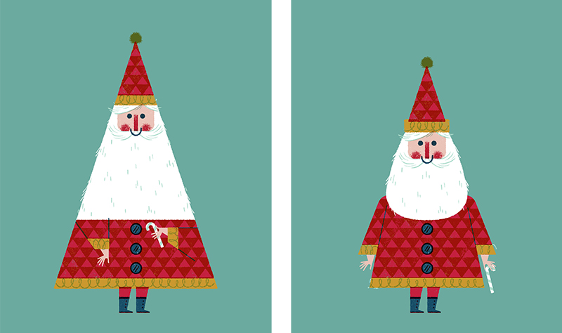 Christmas Illustrations.Waitrose Christmas Illustrations Lydia Nichols Illustration