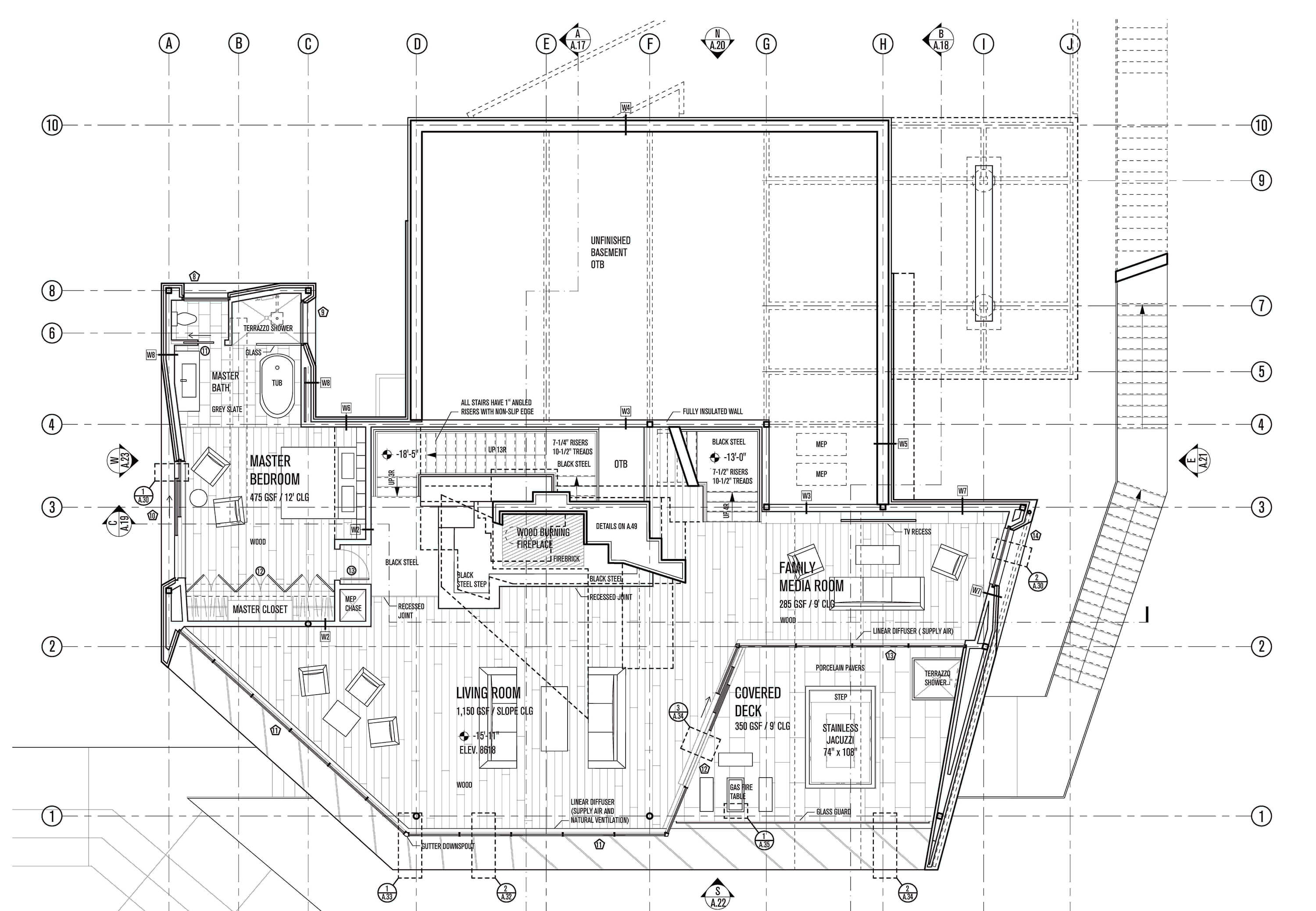 Powder Mountain House Tom Wiscombe Architecture Exhausto Fan Wiring Schematic