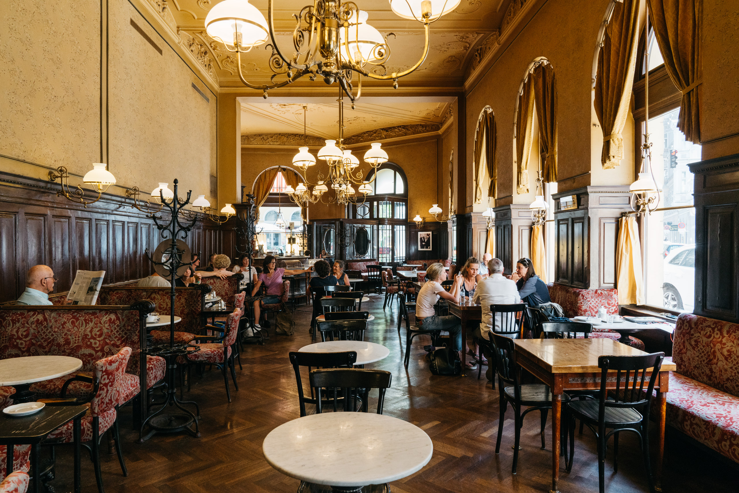 Coffee Houses Of Vienna Gregor Hofbauer Photography