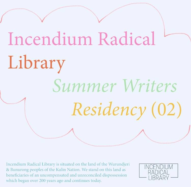 Events - Incendium Radical Library