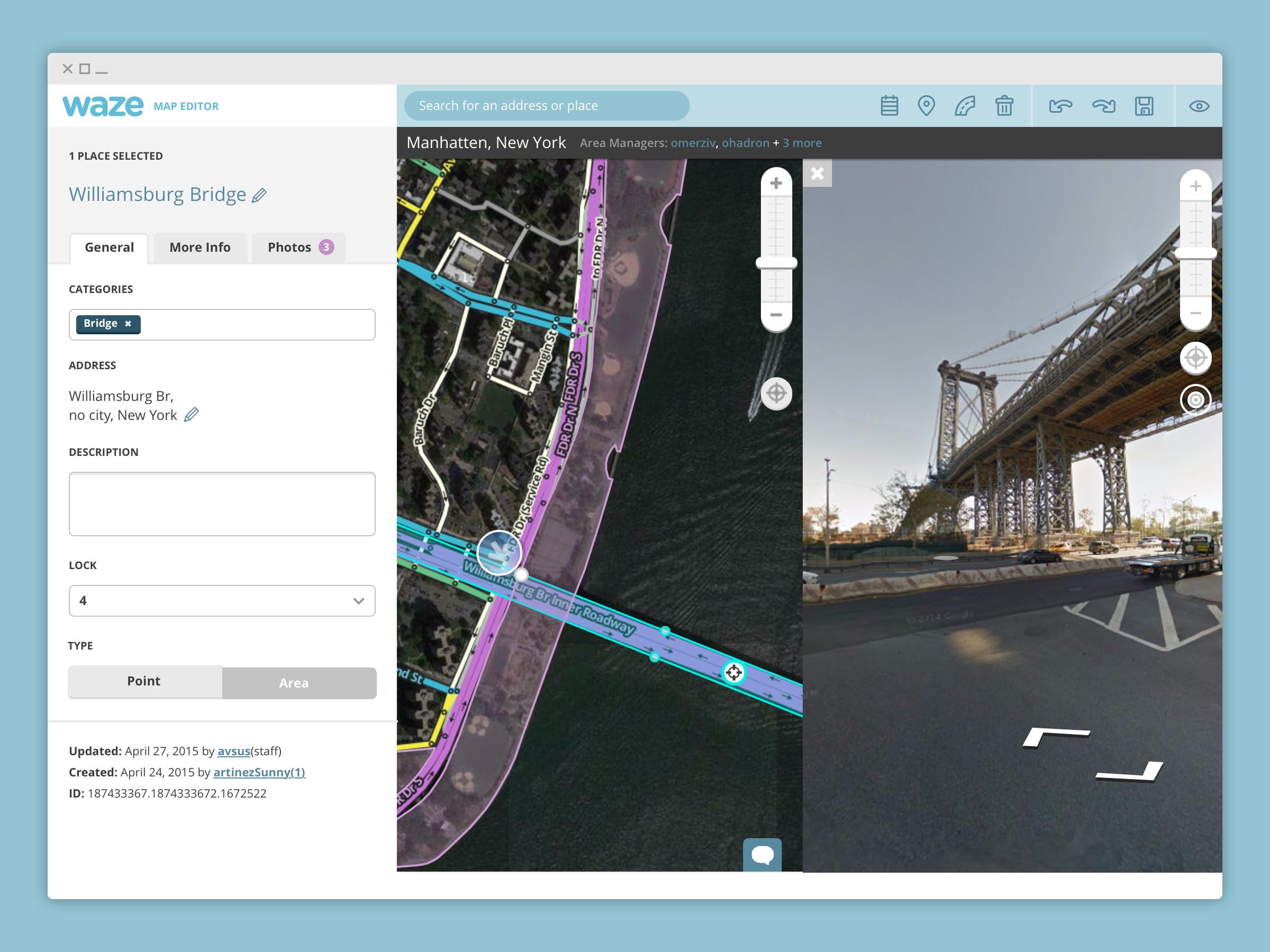 Waze Map Editor - Nitzan Ron