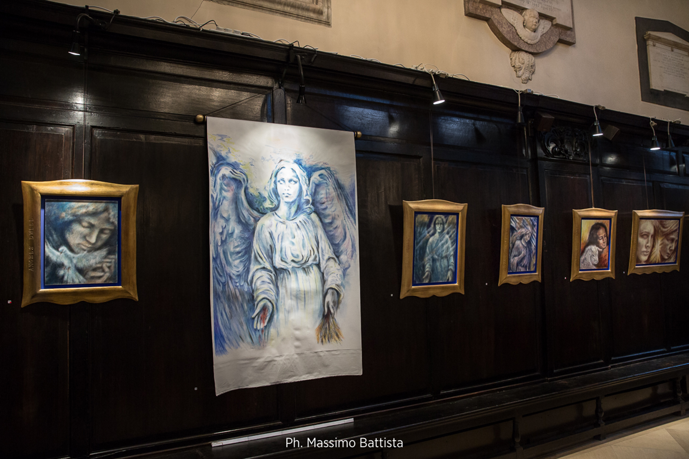 The Shadow of Angels, London - Kim Poor