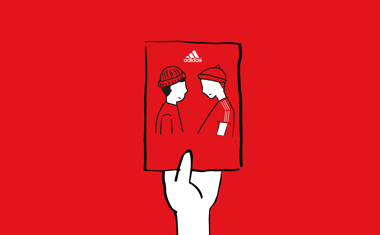 conductor estoy de acuerdo con Tesoro  Adidas HQ Illustrations - Villa Dean™ | Innovations Designer &  Social-Entrepreneur