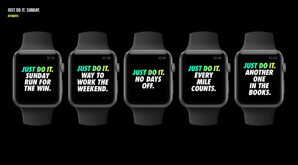 0edd9dbc56 Apple Watch Nike+ - Creative Selects