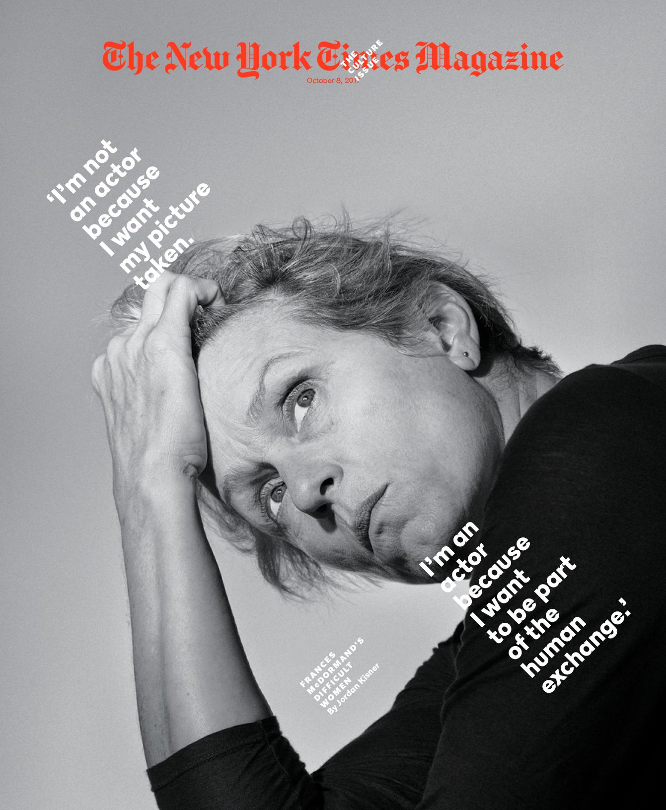 The New York Times Magazine Culture Issue Ben Grandgenett