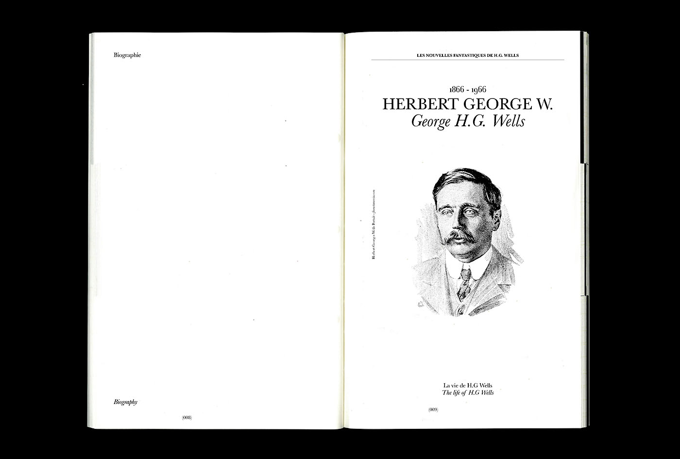 herbert george wells biography