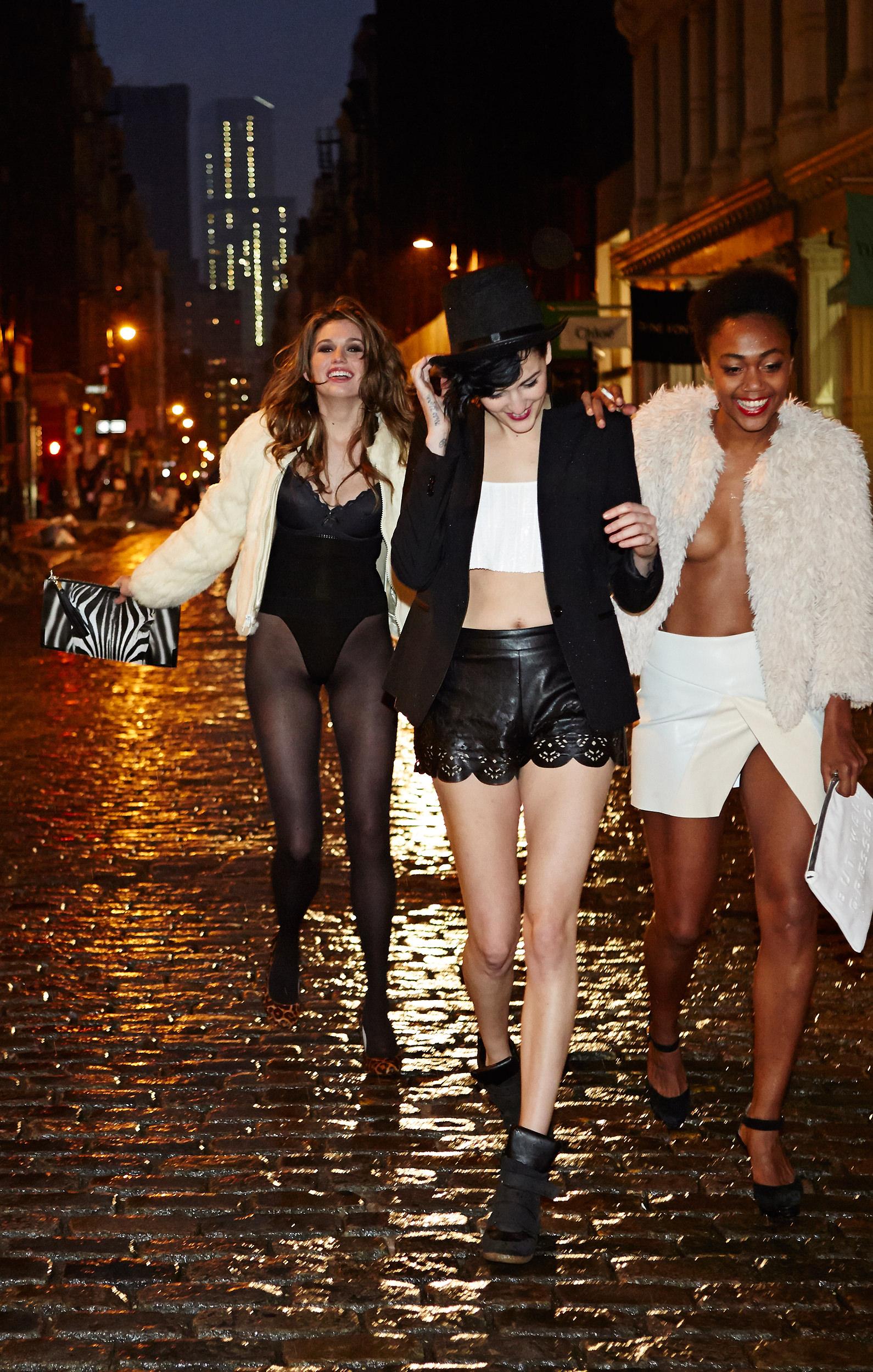 Fashion Nights on Instagram Sunday Funday leather t