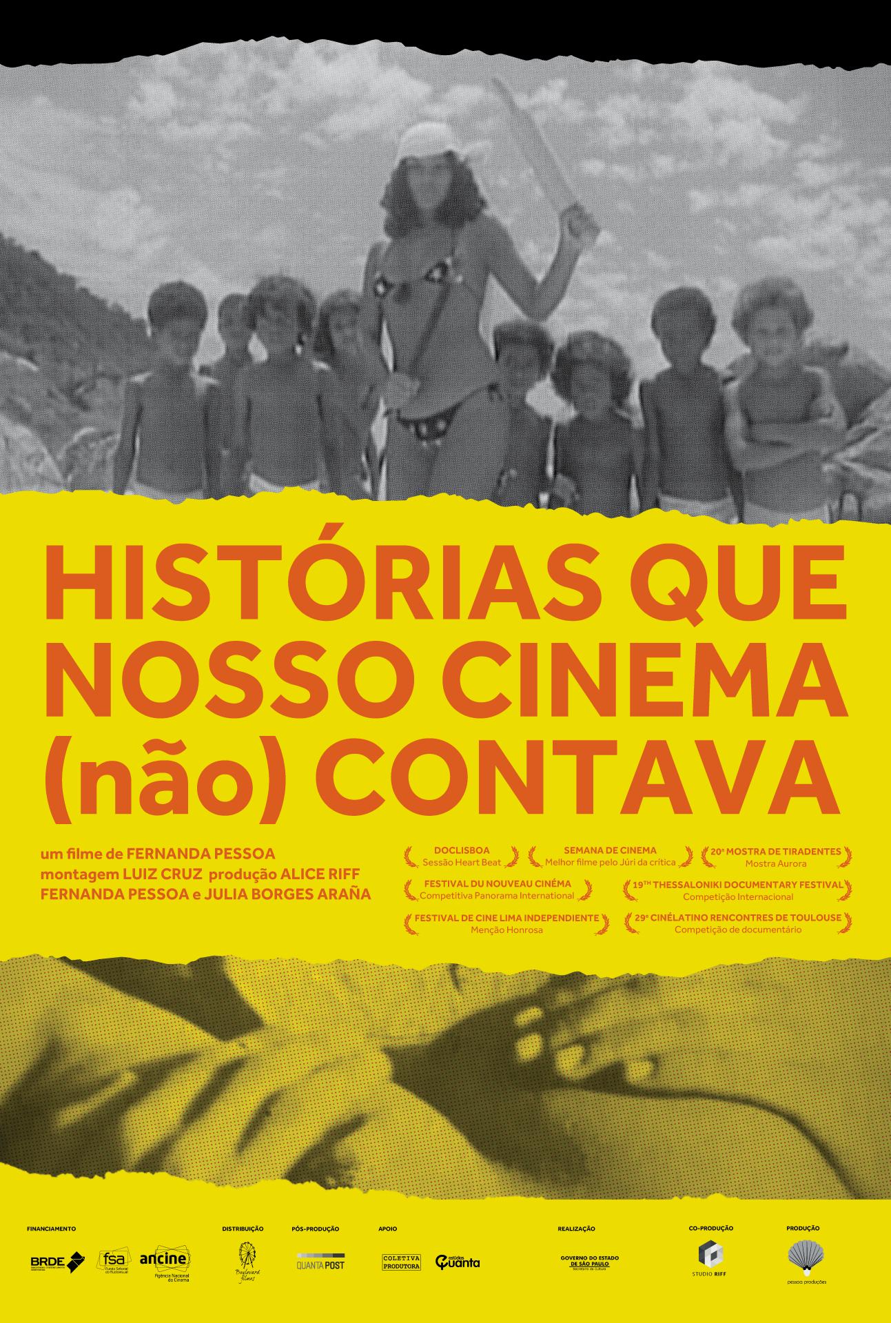 Resultado de imagem para a historia do cinema brasileiro não contada fernanda pessoa