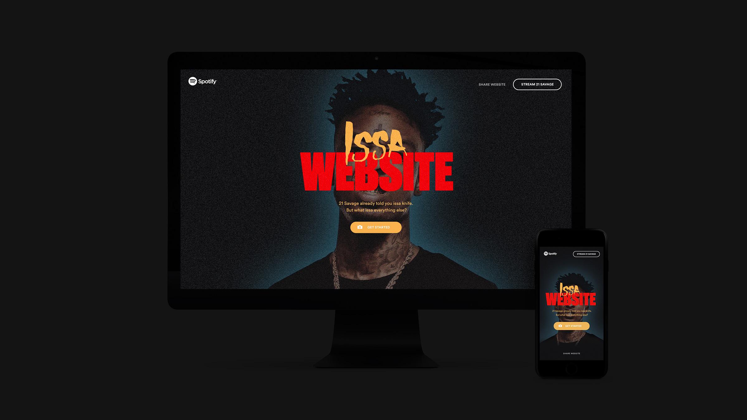 Issa Website - Tal Midyan Portfolio