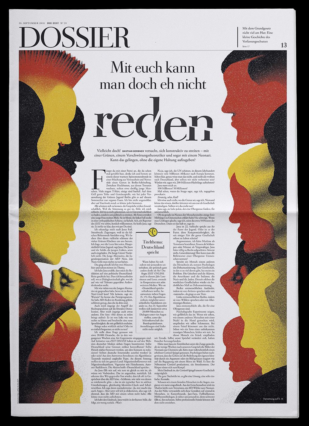 DIE ZEIT Dossier Cover