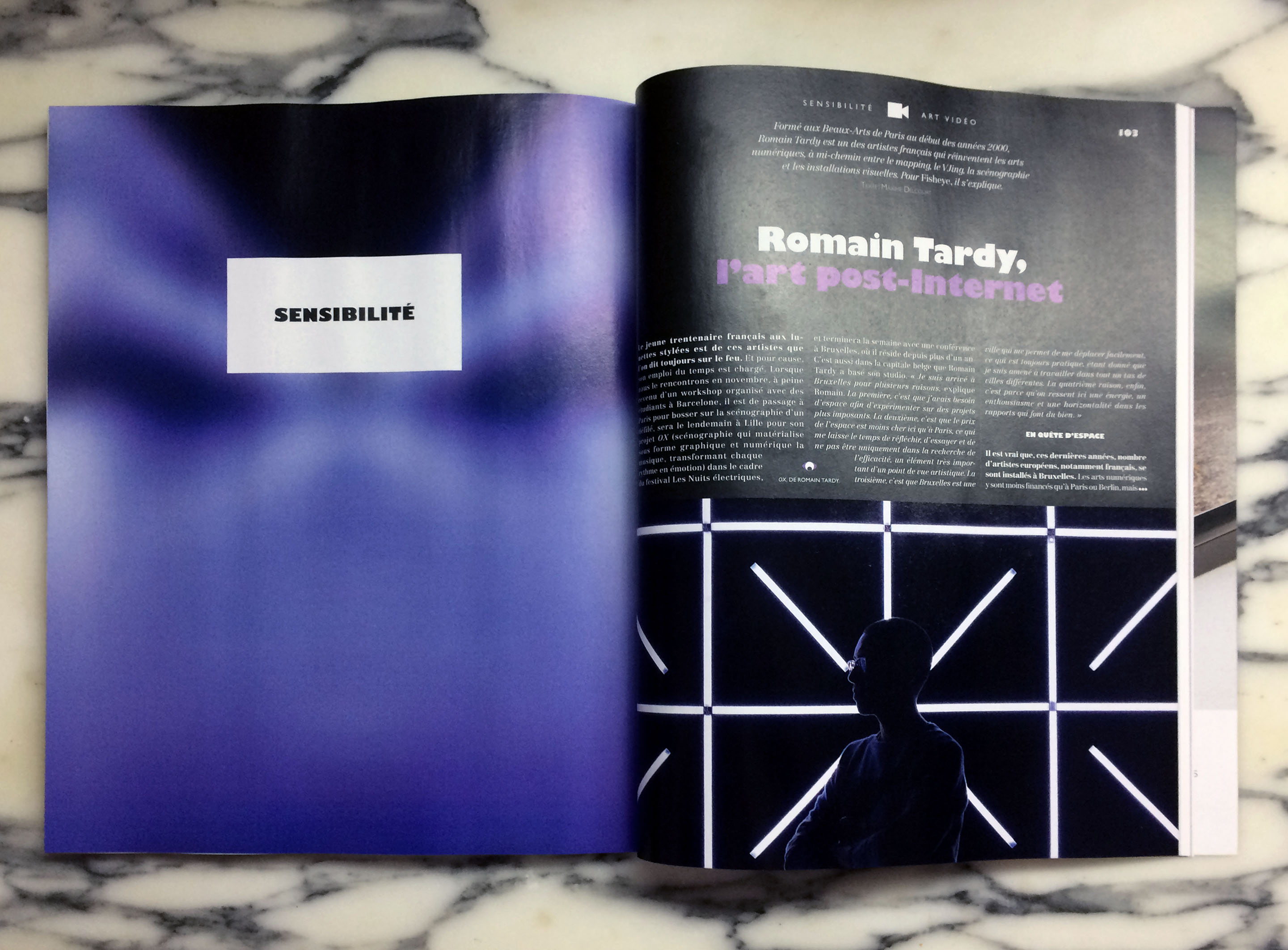 Press Material Romain Tardy