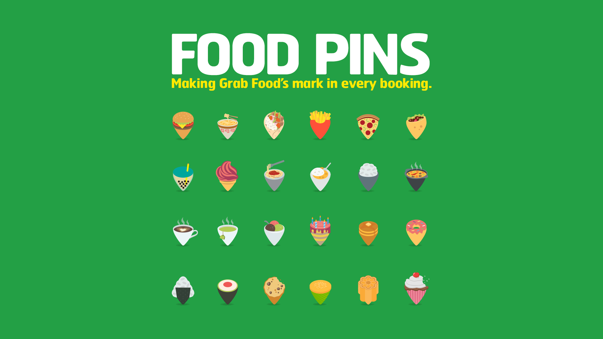"""Cannes Digital Young Lions Winner 2019 """"Food Pins"""" - Lance"""