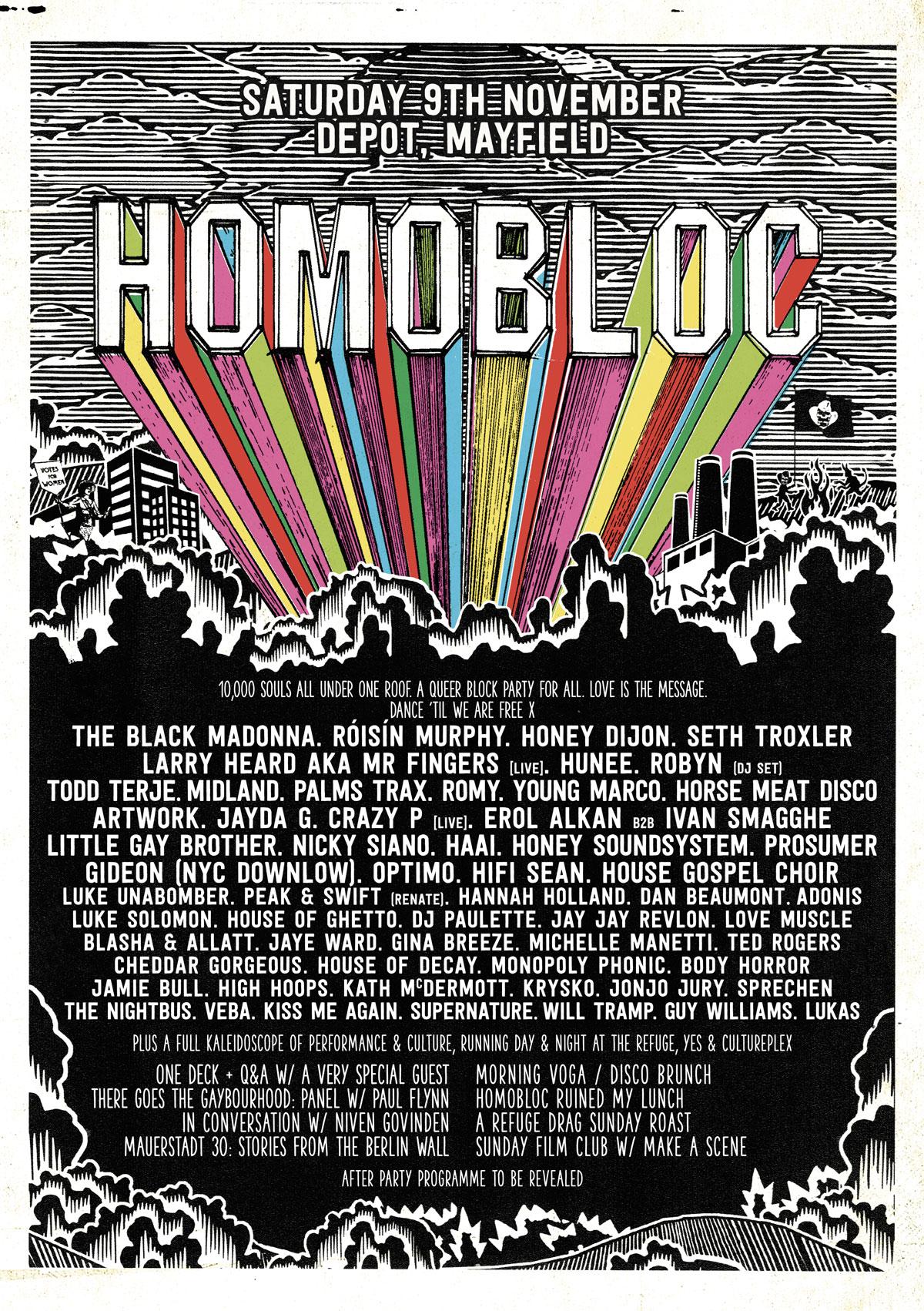 Homobloc - Paul Hemmingfield