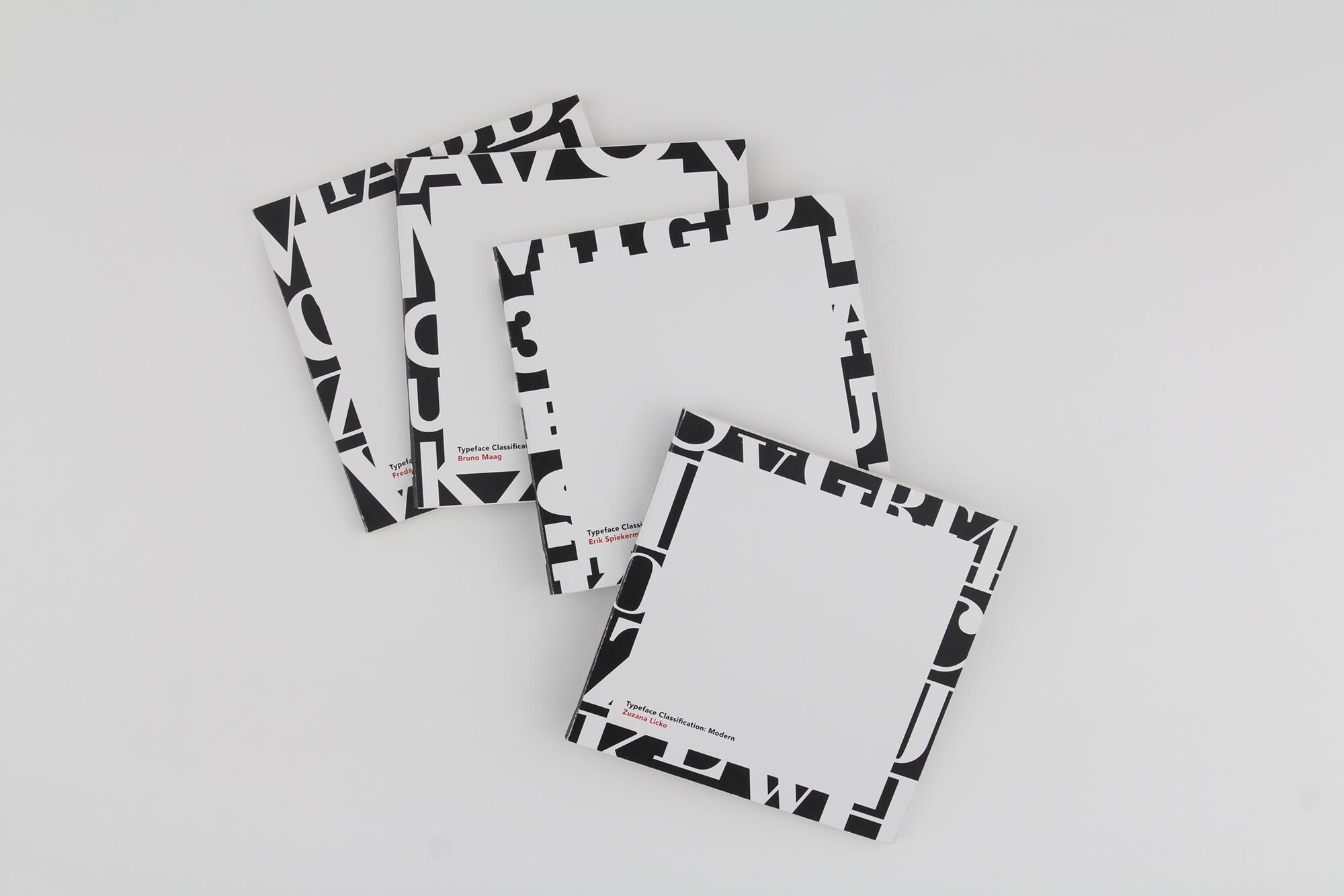 4 typeface book covers - iammai