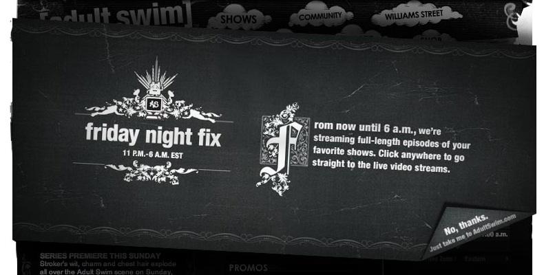 Adult fix friday night swim