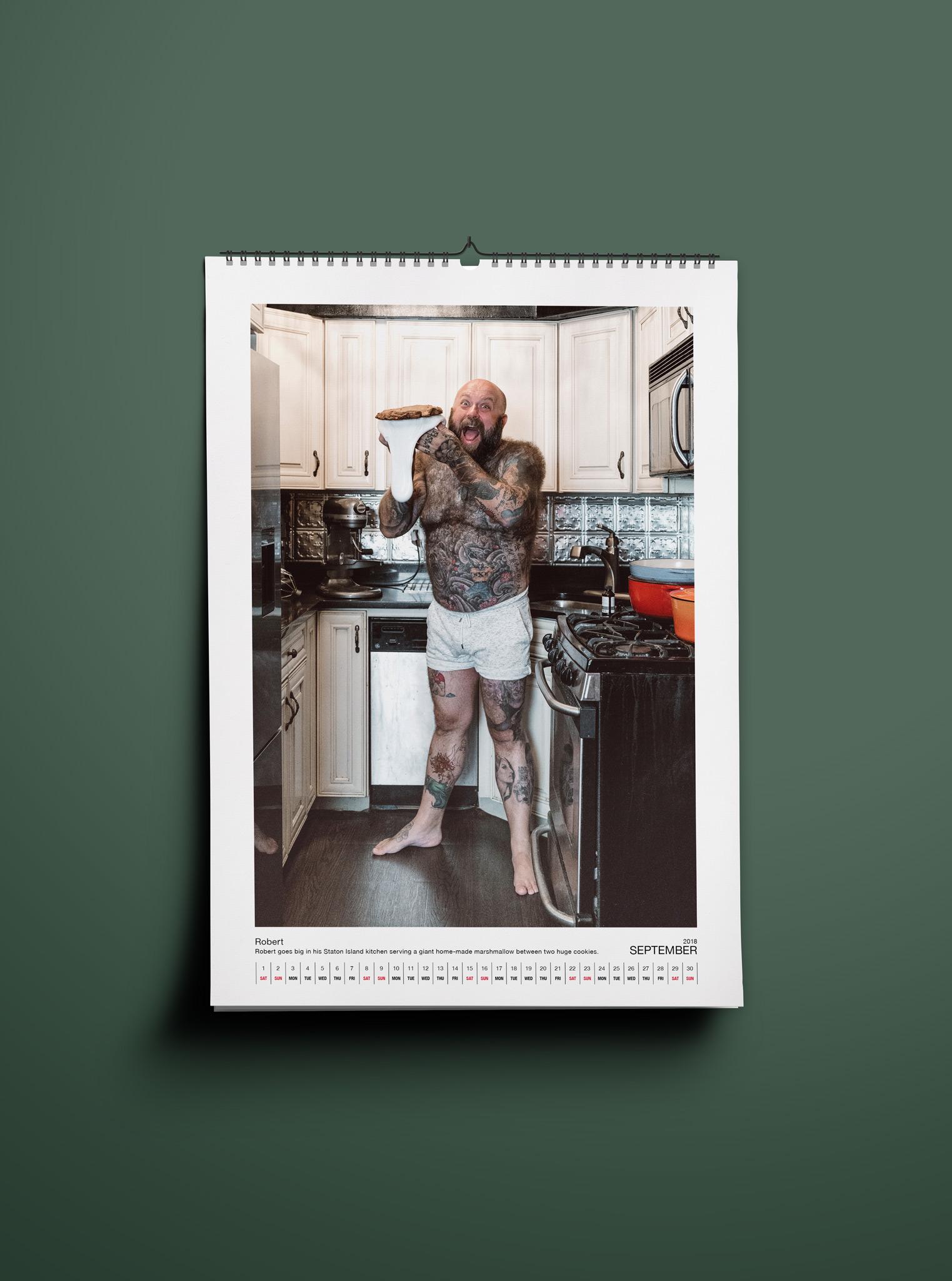 Beards In The Kitchen Calendar 2018 Gregor Hofbauer Photography