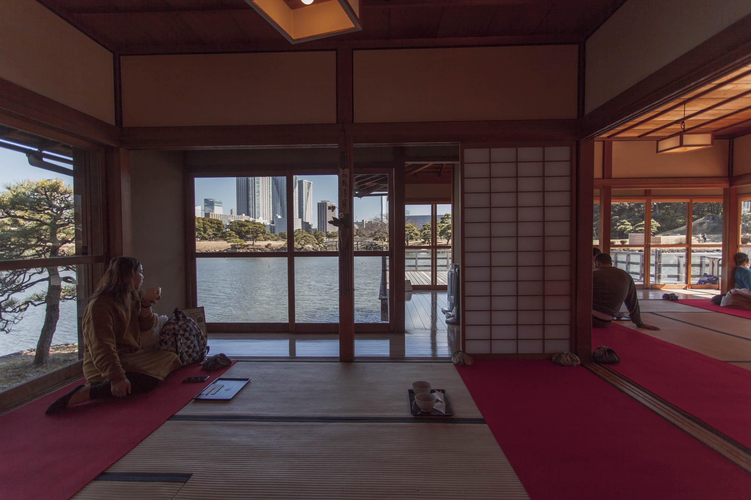 Idee Renovation Salon hama-rikyu garden and tea house | shiodome - when in tokyo