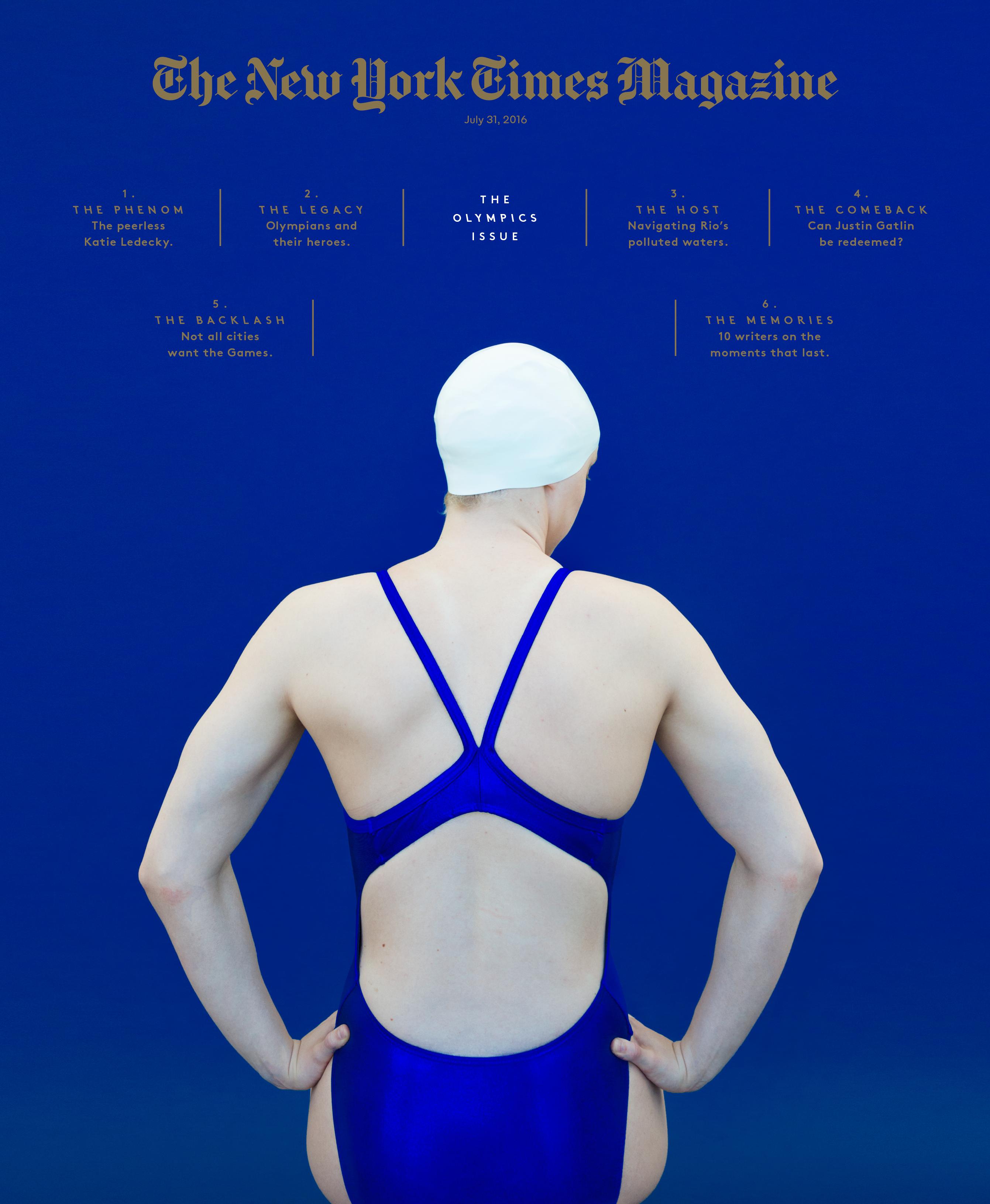The New York Times Magazine Olympics Issue Ben Grandgenett