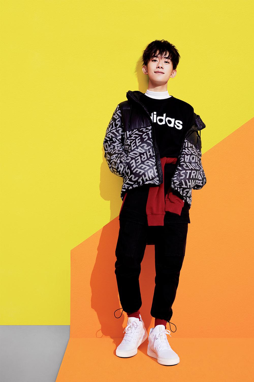 half off d1a2e cd768 Adidas Neo - Jackson Lee   Dilraba Dilmurat - Tom van Schelven