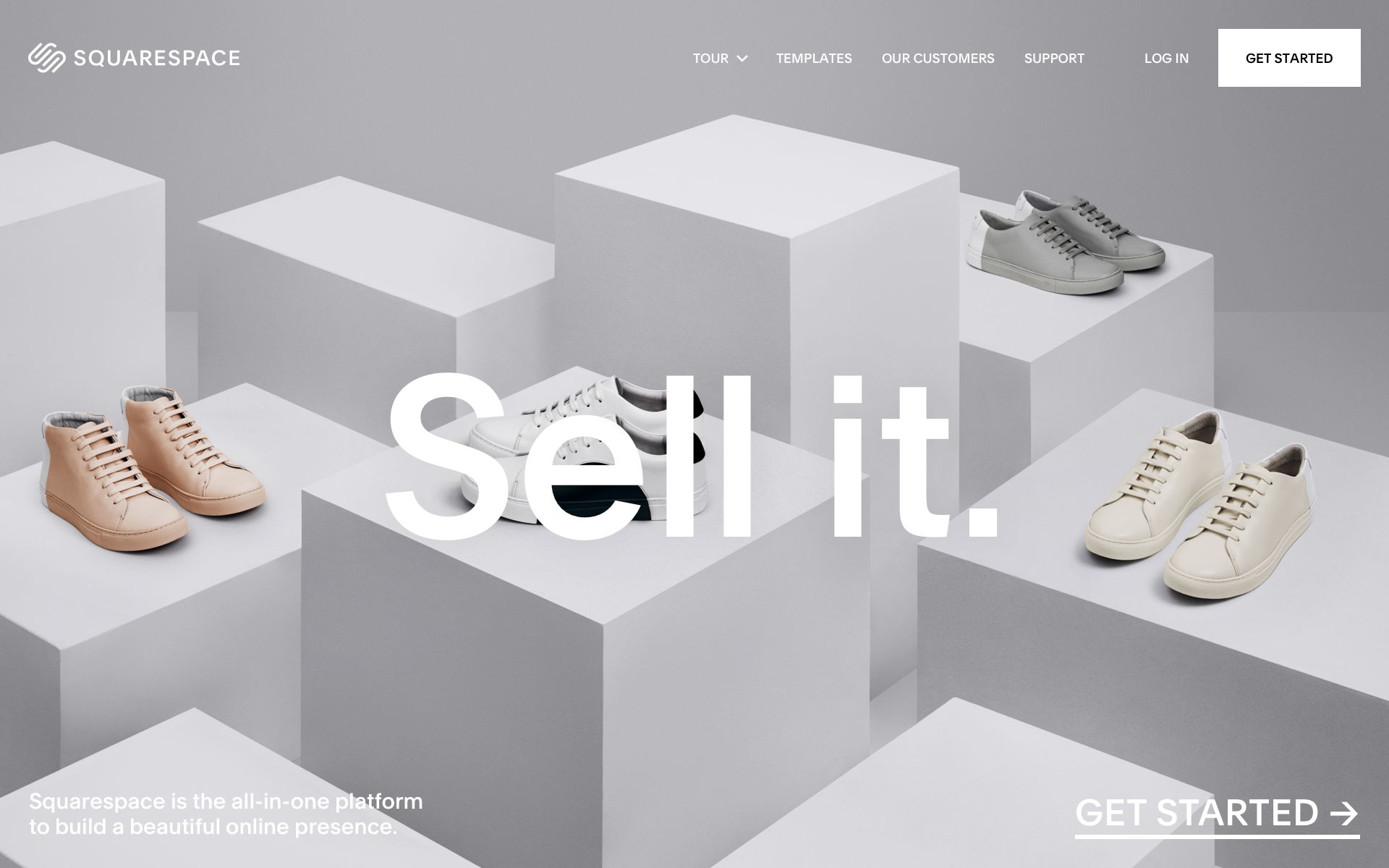As part of Squarespace brand refresh, I helped redesigning the squarespace.com to match the new brand and typography. Visit Squarespace.