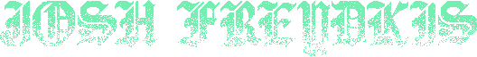 Josh Freydkis Logo