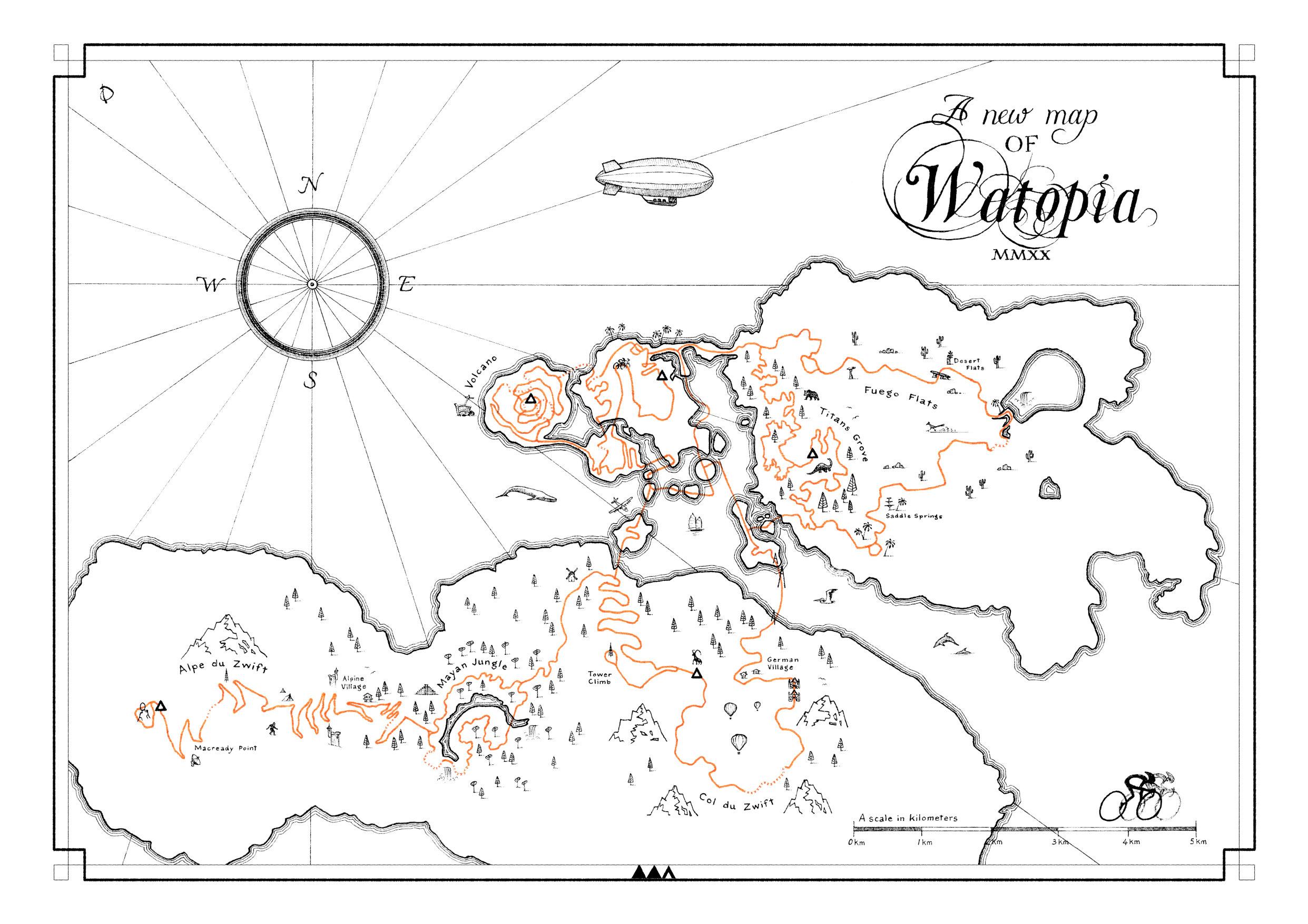 mapa de watopia