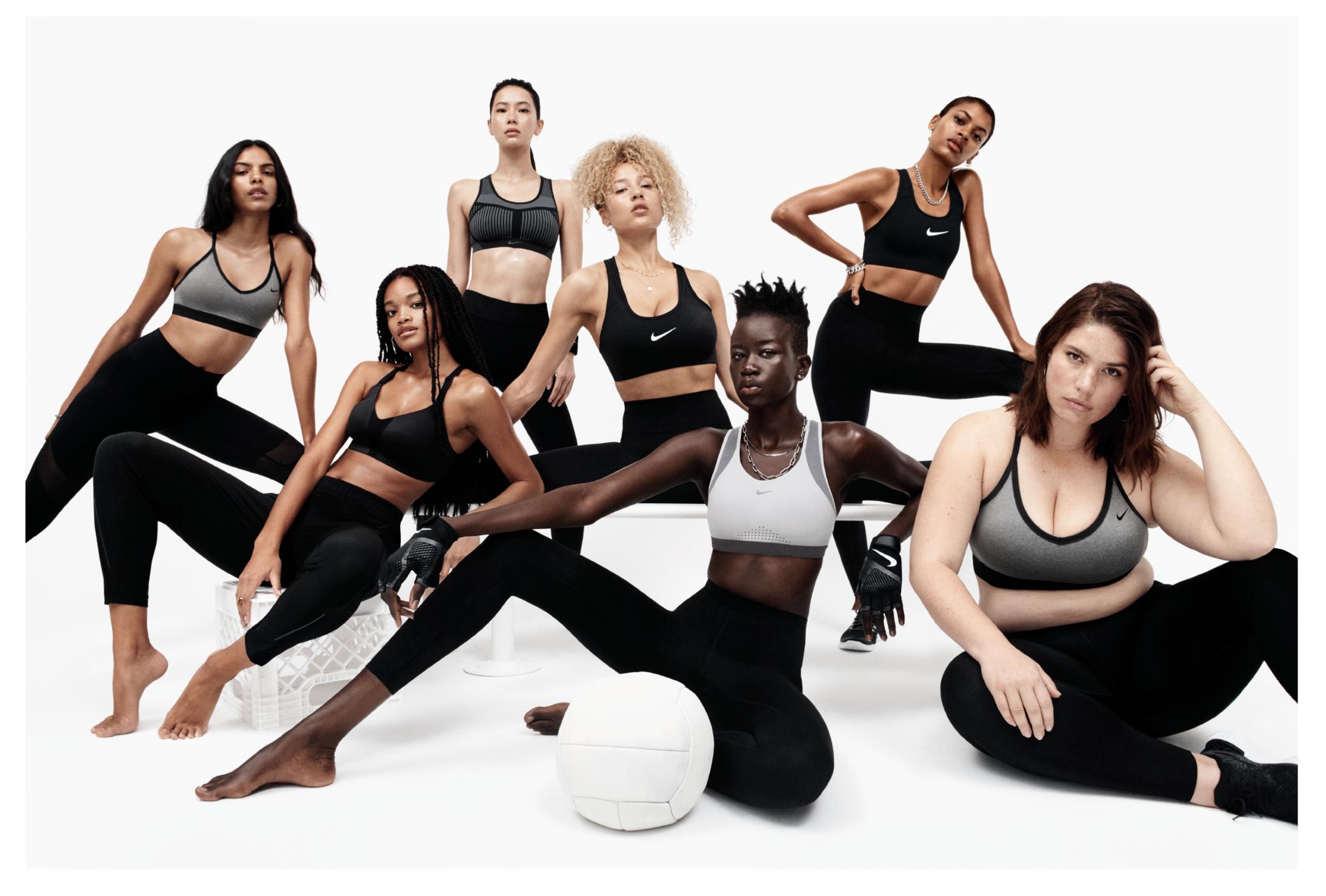 Hormiga flotante Imitación  nike women's bra & tights campaign - mere imani.