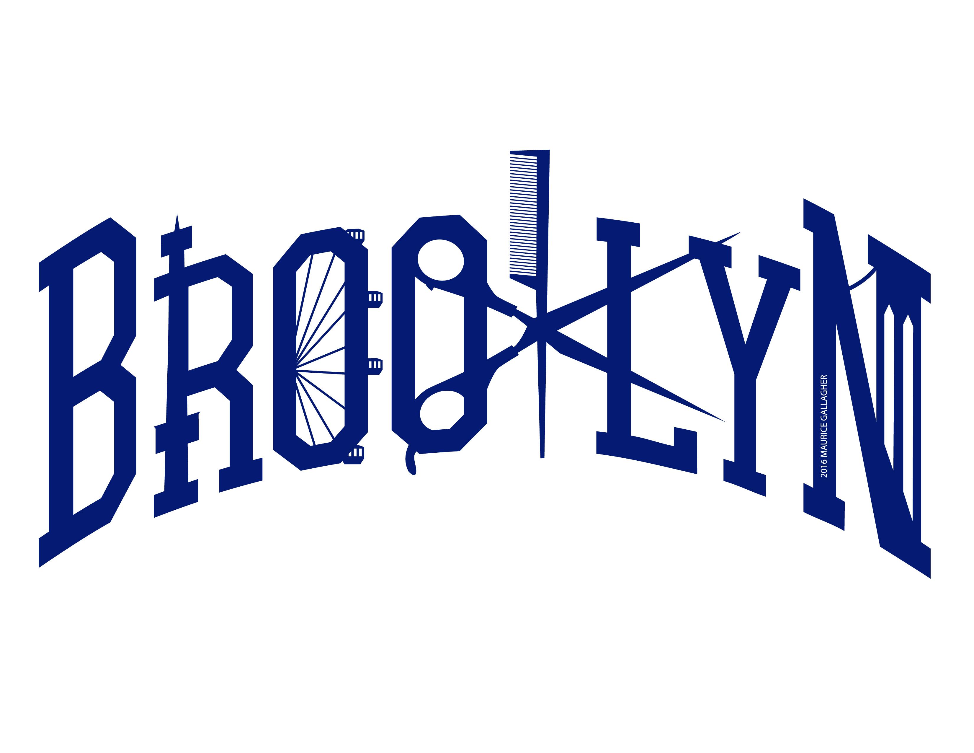 Brooklyn Salon Logo Design Maurice Gallagher