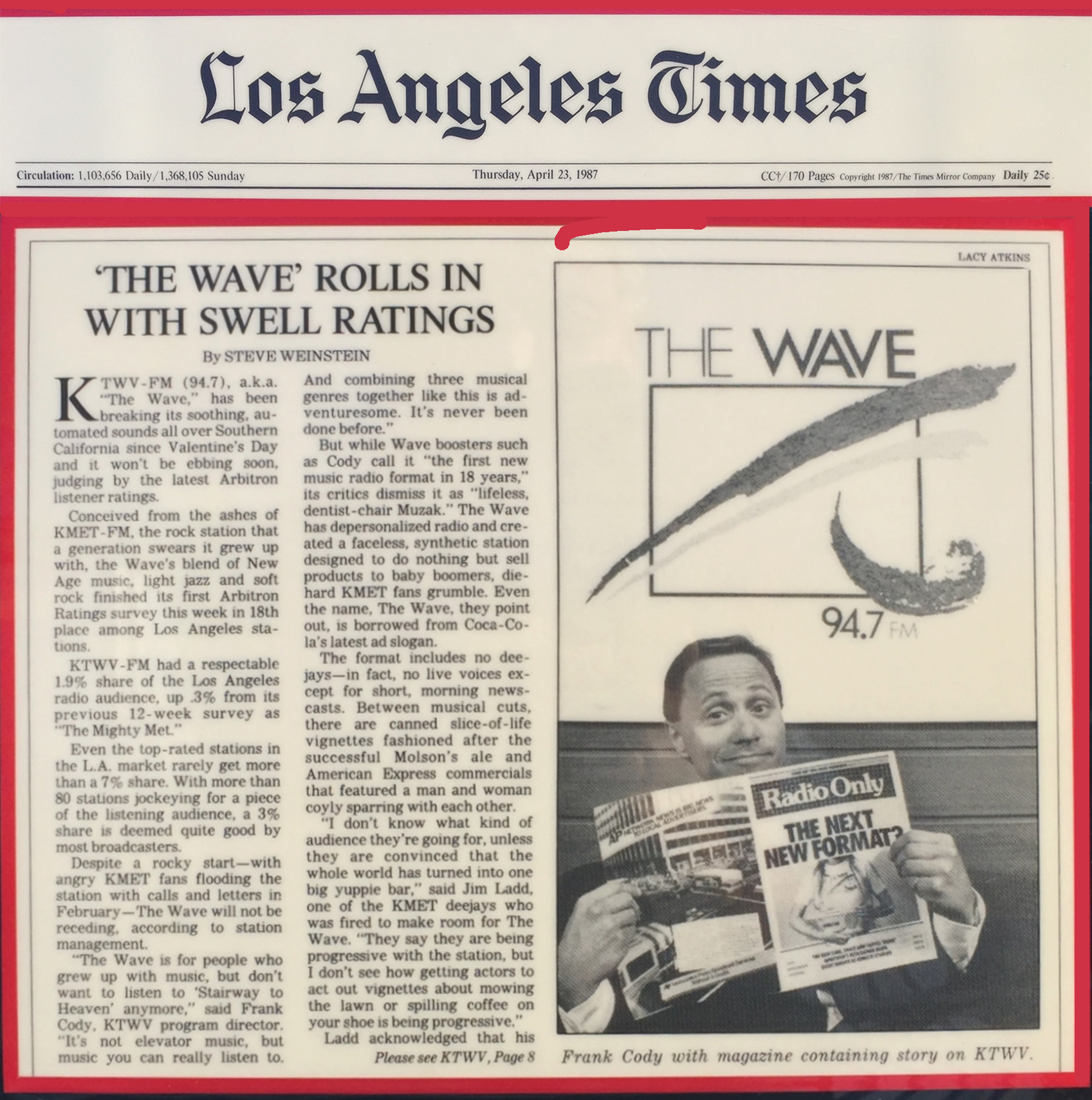 the wave fm los angeles