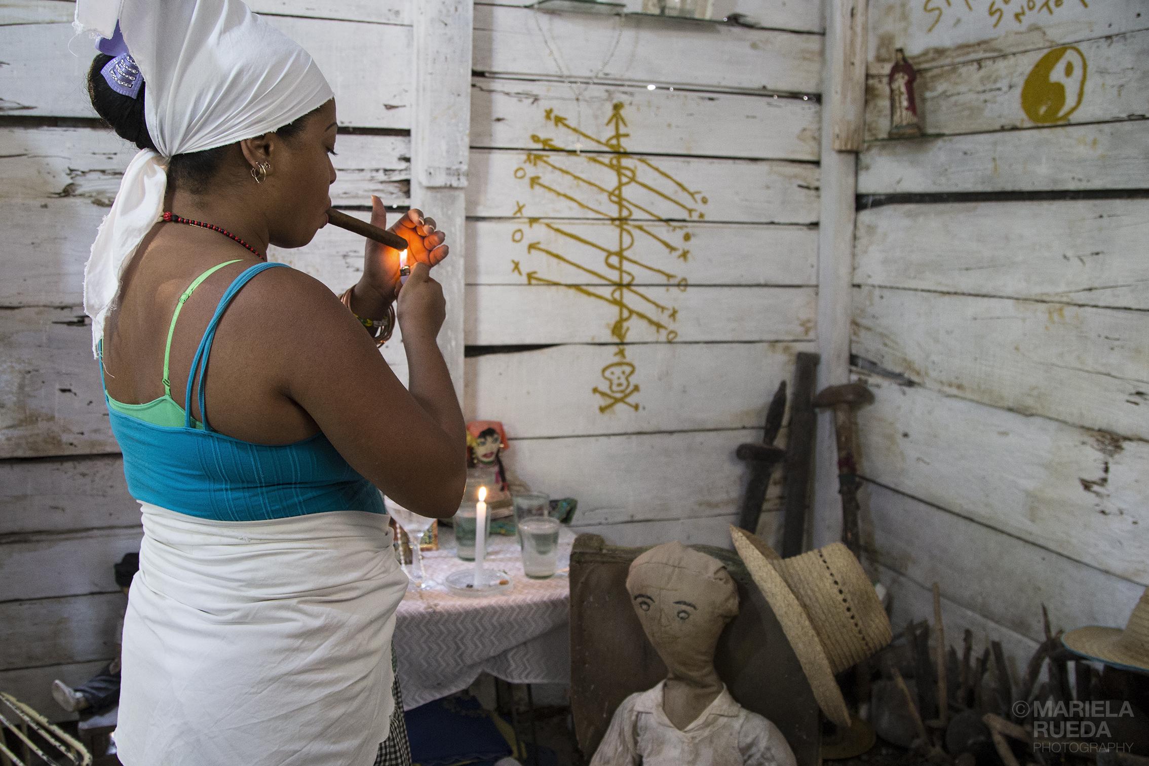 Orishas  Santeria in Cuba  - mariela rueda alvarez