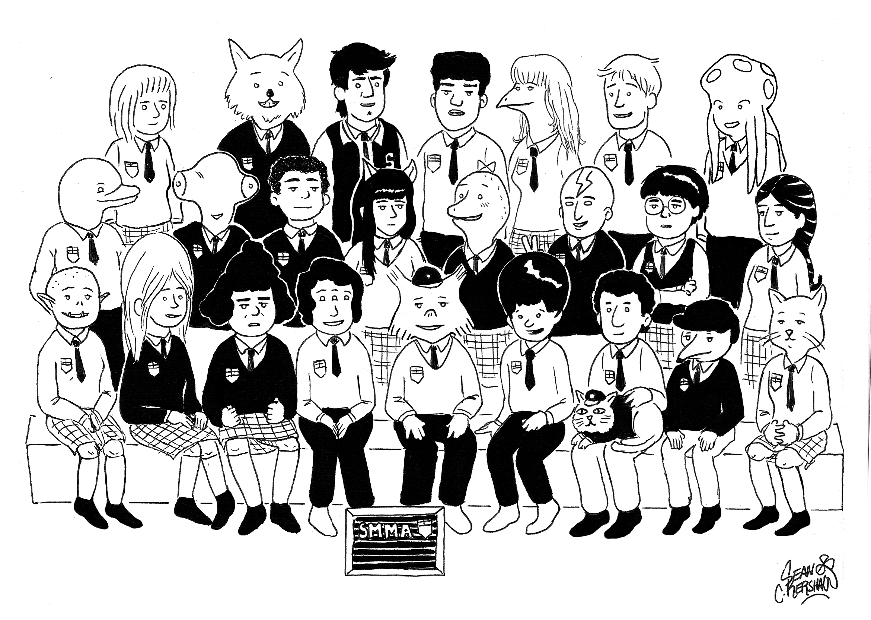 Super Mutant Magic Academy Graduating Class