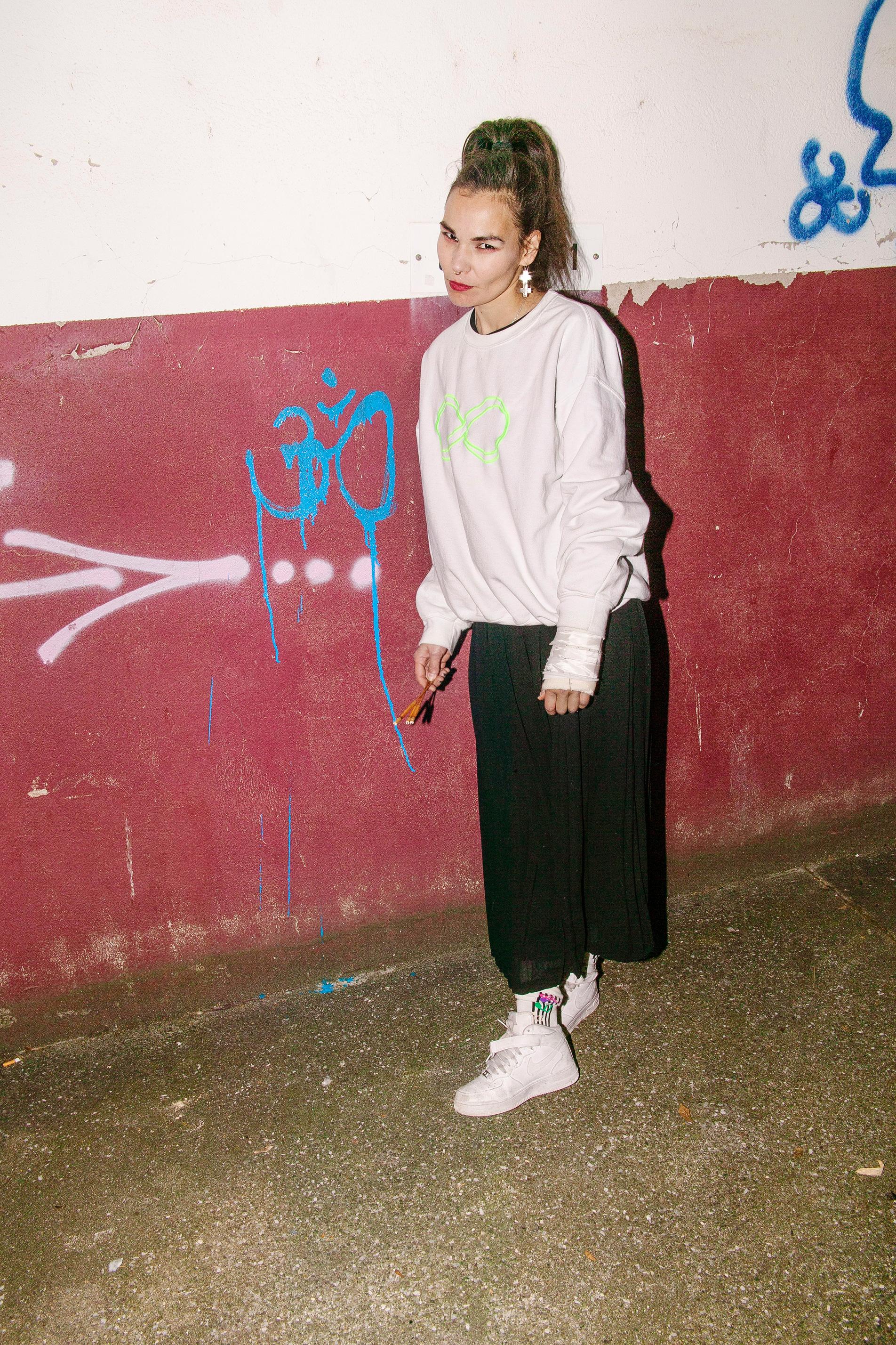 AISHA DEVI + DJ STINGRAY FOR FASHION WEEK AT TEATRO PUCCINI