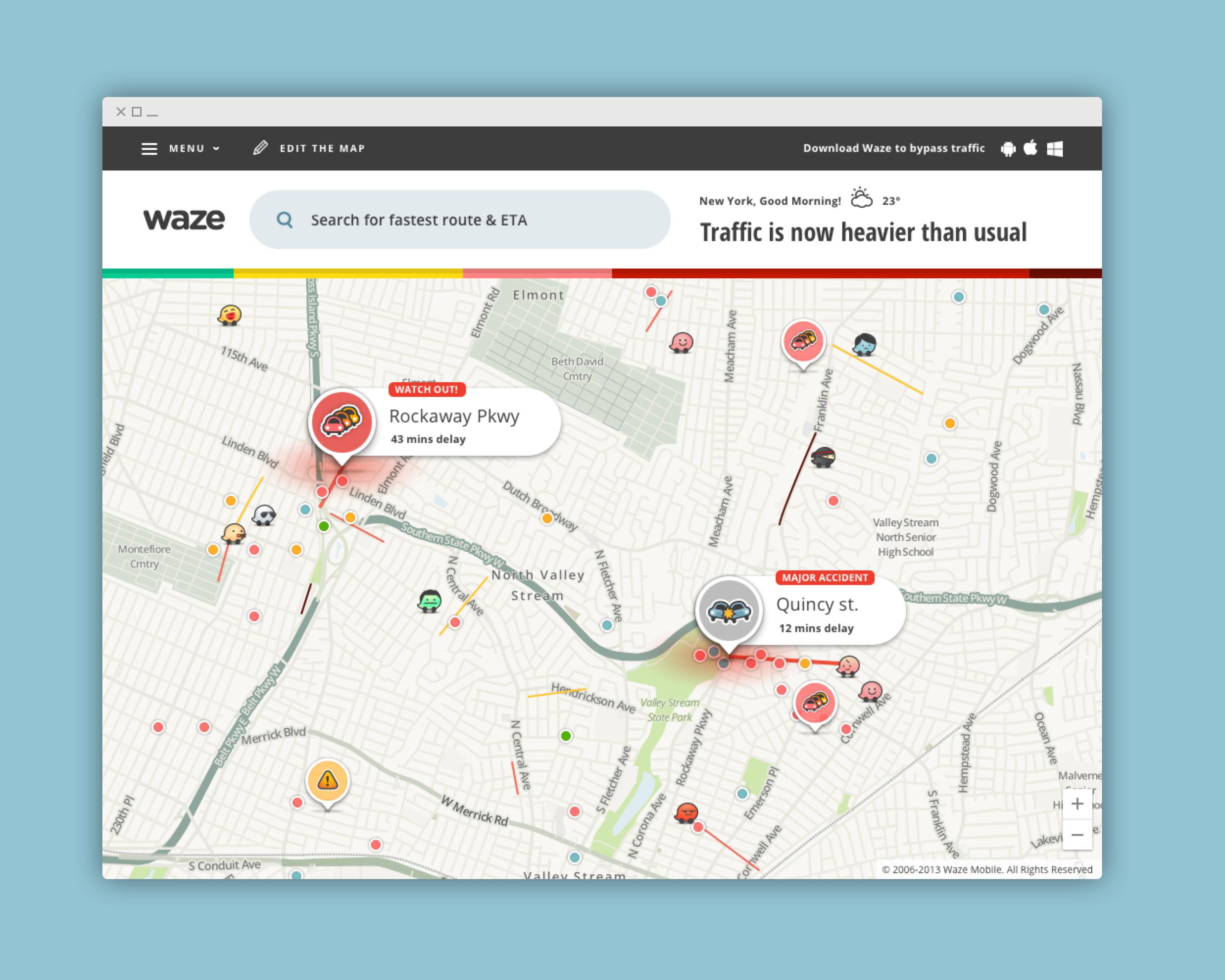 Waze Live Map - Nitzan Ron