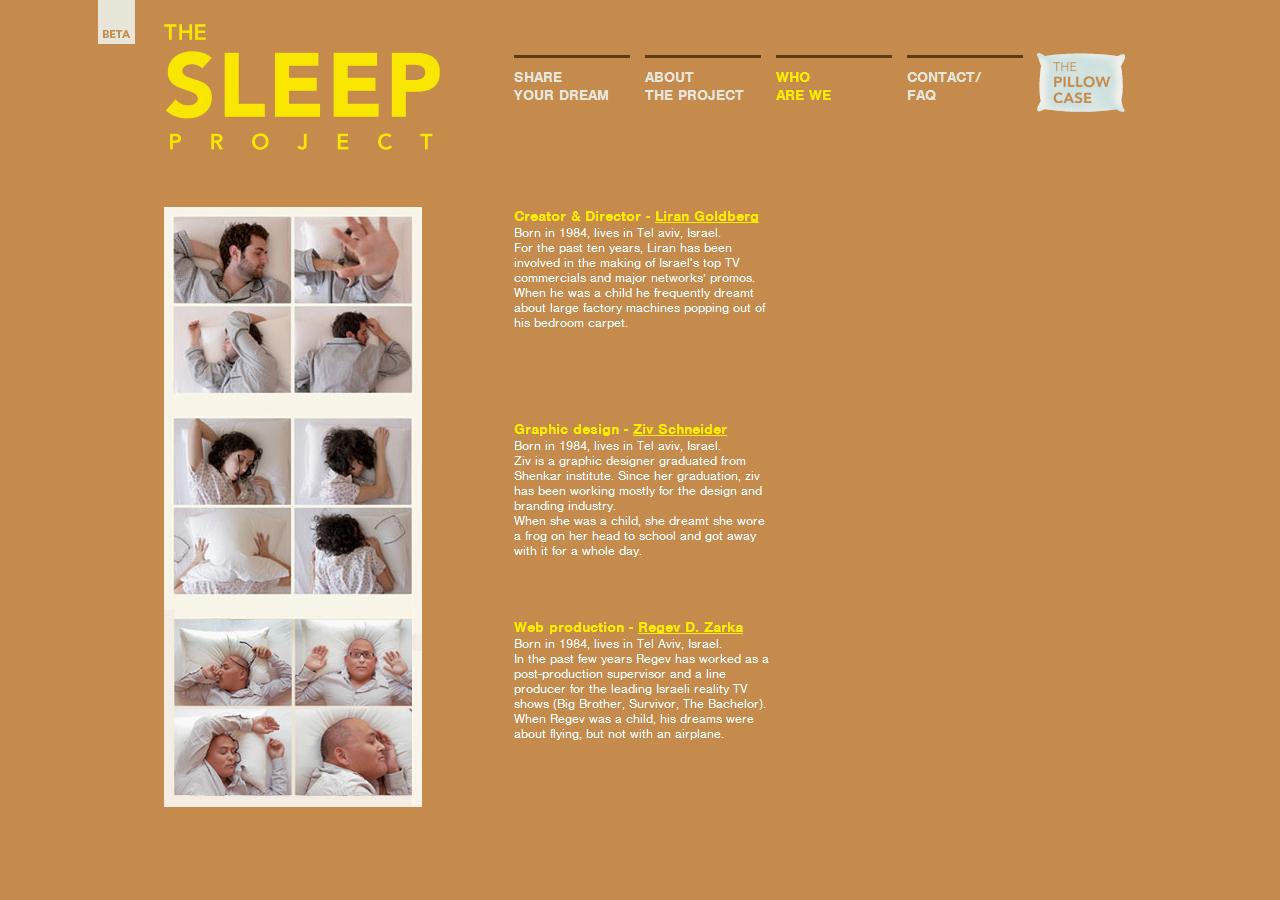 The Sleep Project - ziv schneider
